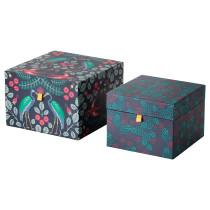 Коробка подарочная, 2 штуки АНИЛИНАРЕ красный артикуль № 904.021.06 в наличии. Online сайт IKEA Беларусь. Недорогая доставка и монтаж.