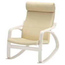 Кресло-качалка ПОЭНГ белый с оттенком артикуль № 092.816.99 в наличии. Онлайн сайт ИКЕА Беларусь. Недорогая доставка и установка.