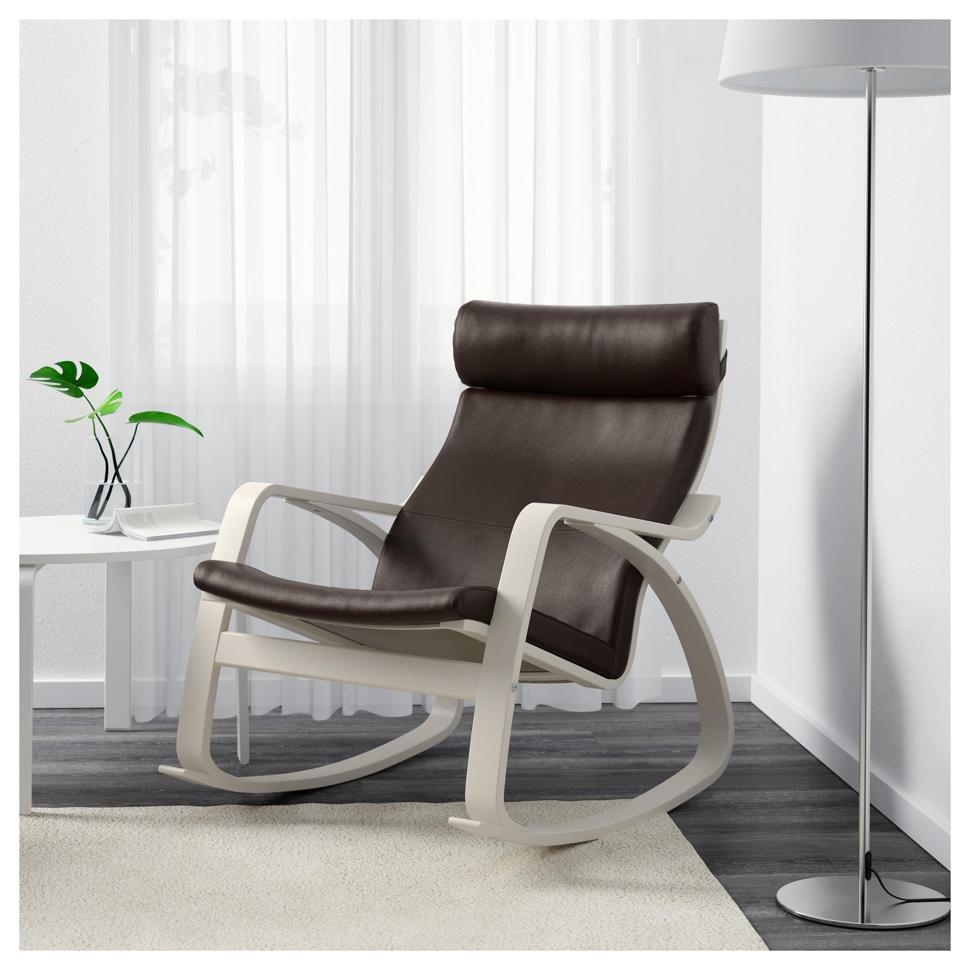 Кресло-качалка ПОЭНГ темно-коричневый артикуль № 292.816.98 в наличии. Online сайт IKEA Республика Беларусь. Недорогая доставка и соборка.