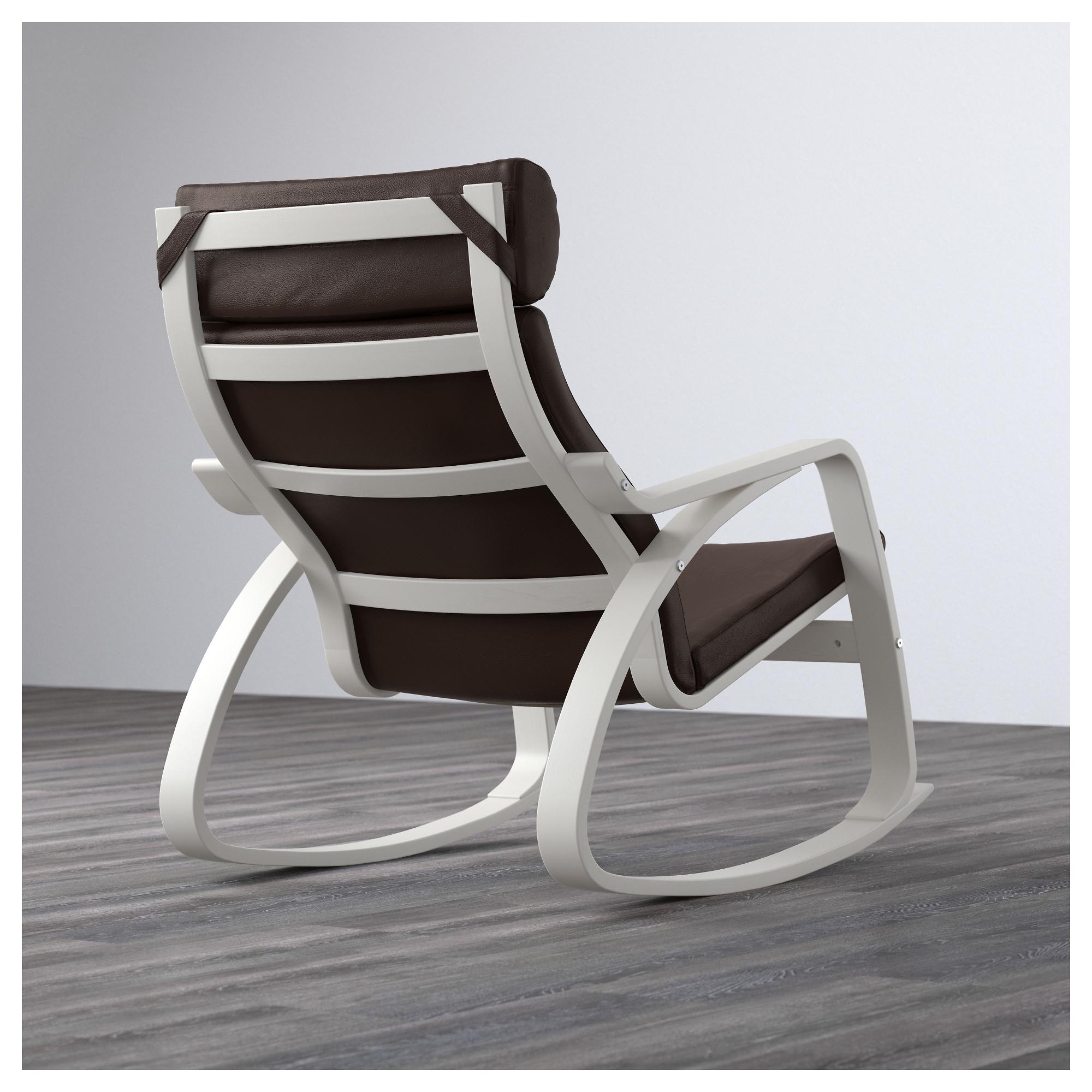 Кресло-качалка ПОЭНГ темно-коричневый артикуль № 292.816.98 в наличии. Онлайн магазин ИКЕА Беларусь. Быстрая доставка и установка.