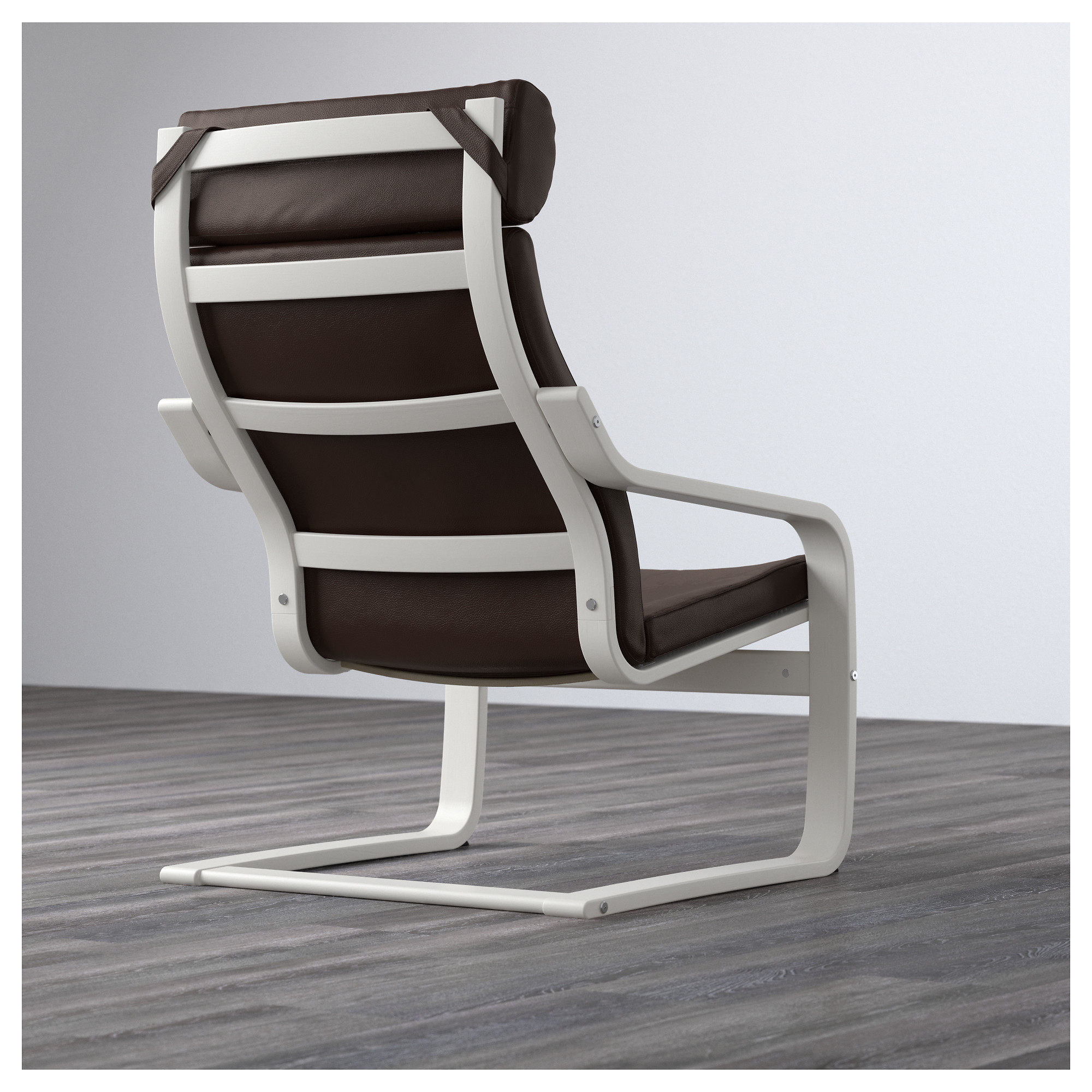 Кресло ПОЭНГ темно-коричневый артикуль № 092.514.71 в наличии. Online сайт IKEA Минск. Недорогая доставка и монтаж.