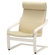 Кресло ПОЭНГ белый с оттенком артикуль № 892.816.81 в наличии. Онлайн сайт IKEA Республика Беларусь. Быстрая доставка и установка.