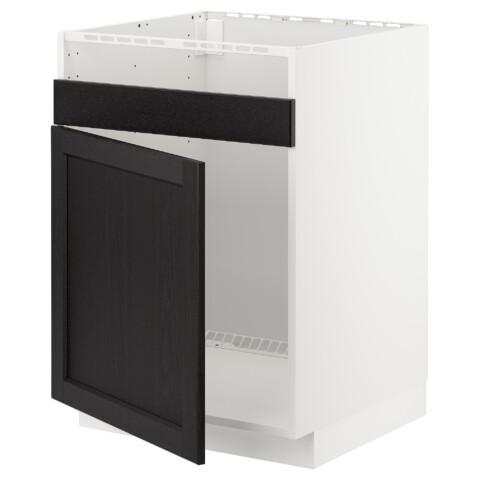 Напольный шкаф для одинарной мойки ДУМШЁ МЕТОД белый артикуль № 892.579.40 в наличии. Интернет сайт IKEA Беларусь. Недорогая доставка и установка.