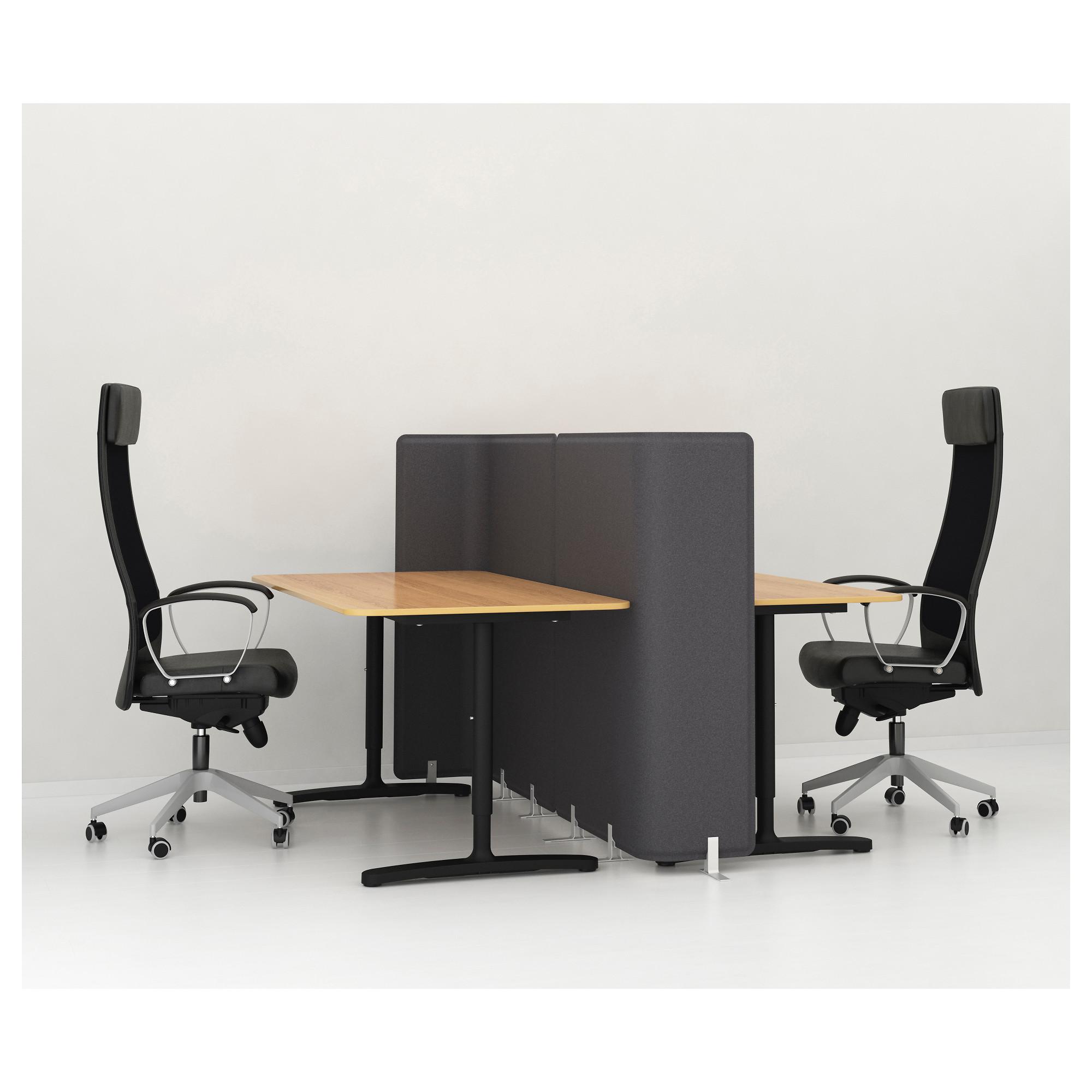 Письменный стол БЕКАНТ черный артикуль № 492.786.33 в наличии. Онлайн магазин ИКЕА РБ. Быстрая доставка и установка.
