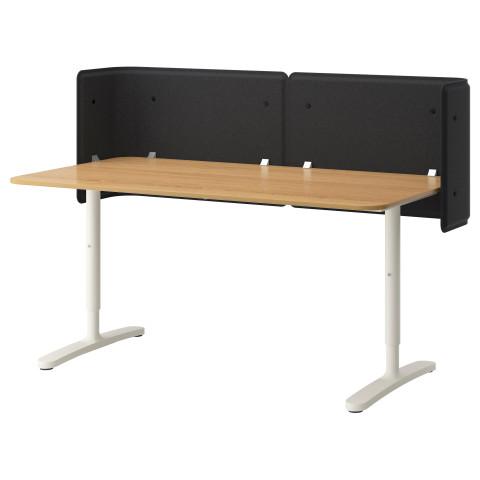 Стол для приемной БЕКАНТ белый артикуль № 092.786.49 в наличии. Online каталог IKEA Минск. Недорогая доставка и монтаж.