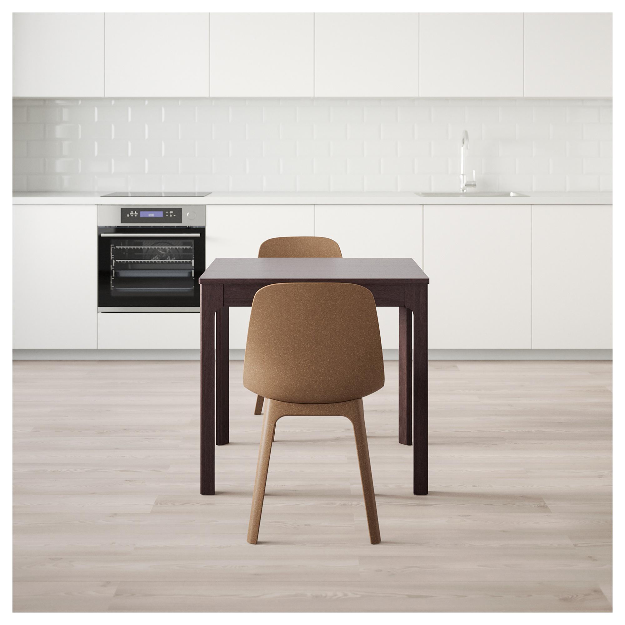 Стол и 2 стула ЭКЕДАЛЕН / ОДГЕР темно-коричневый артикуль № 992.212.86 в наличии. Интернет сайт IKEA РБ. Недорогая доставка и соборка.