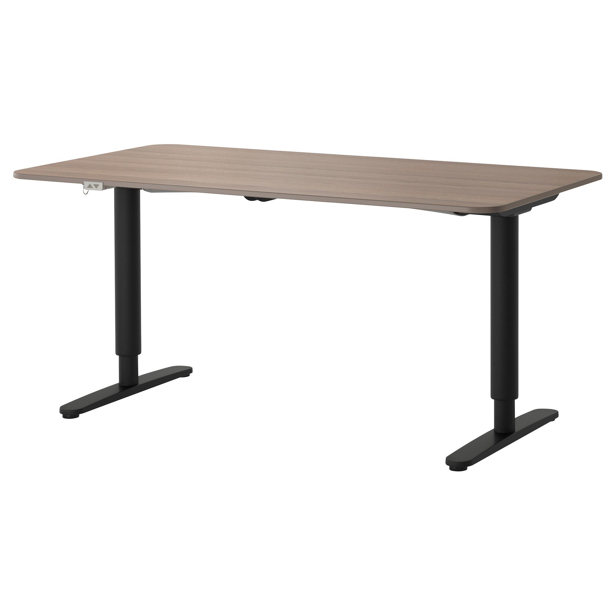 Стол трансформер БЕКАНТ черный артикуль № 292.786.72 в наличии. Online магазин IKEA РБ. Недорогая доставка и установка.