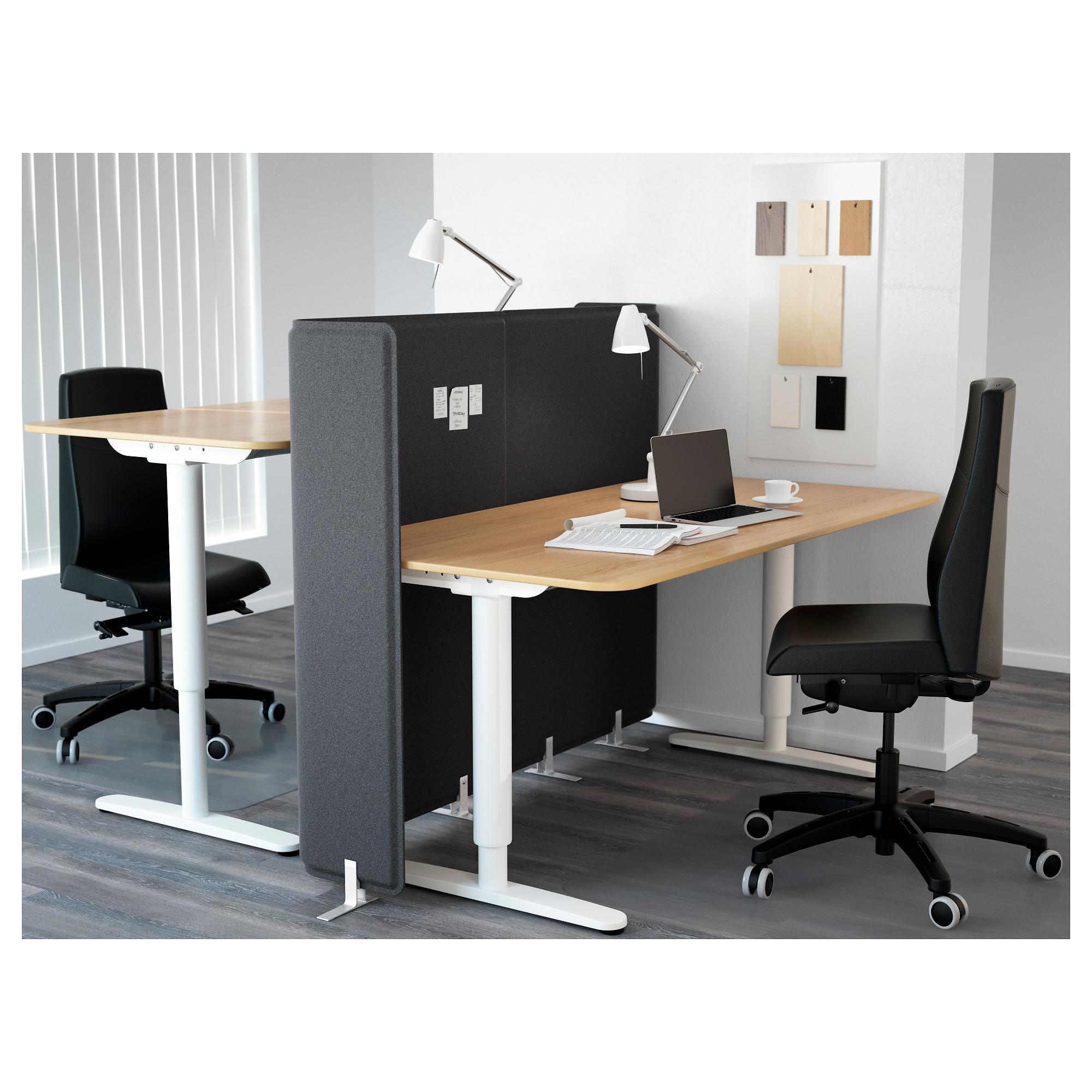 Стол-трансформер с экраном БЕКАНТ белый артикуль № 792.786.79 в наличии. Интернет сайт IKEA РБ. Быстрая доставка и монтаж.