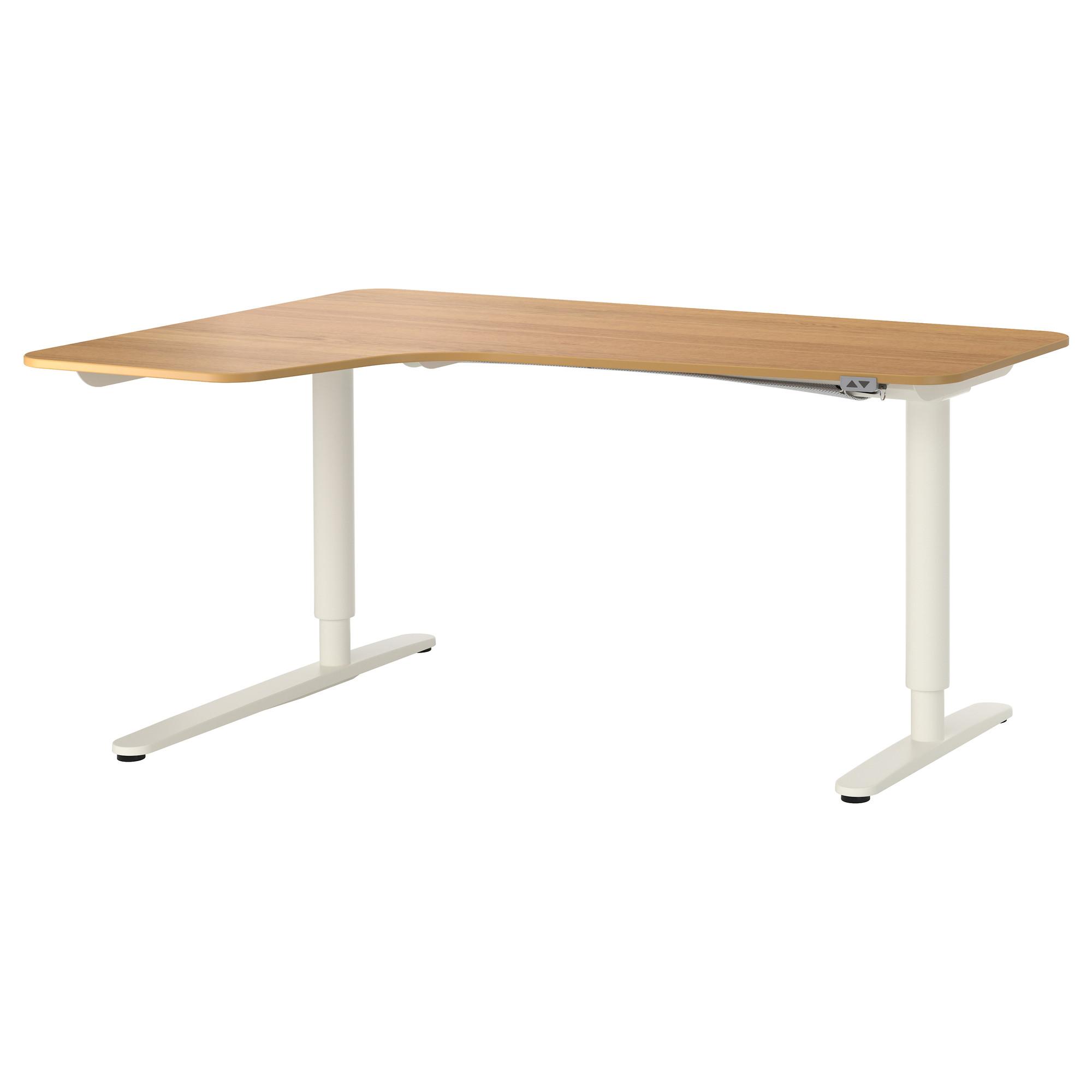 Угловой письменный стол левосторонний трансформер БЕКАНТ белый артикуль № 592.786.61 в наличии. Интернет каталог IKEA РБ. Быстрая доставка и установка.