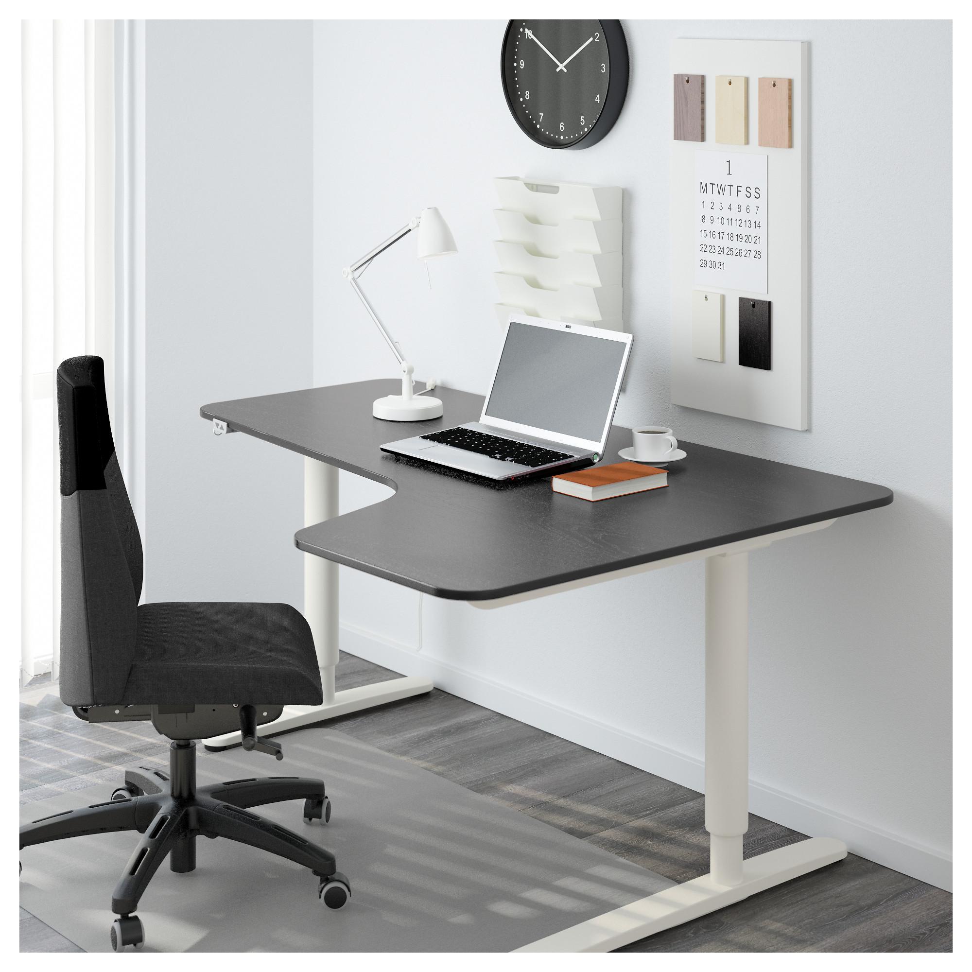 Угловой письменный стол правосторонний, трансформатор БЕКАНТ белый артикуль № 192.786.63 в наличии. Интернет сайт IKEA Минск. Недорогая доставка и установка.