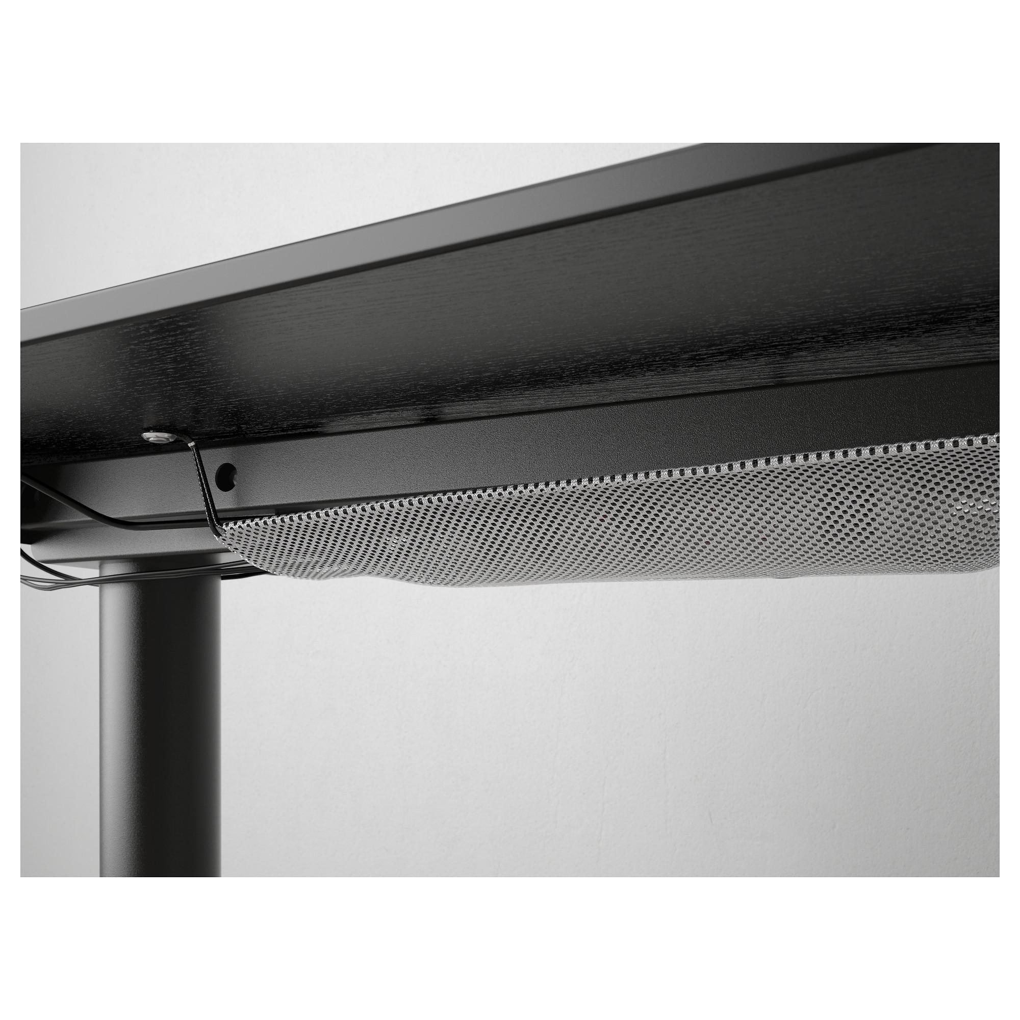 Угловой письменный стол правосторонний, трансформатор БЕКАНТ черный артикуль № 792.786.55 в наличии. Онлайн магазин IKEA Республика Беларусь. Быстрая доставка и монтаж.