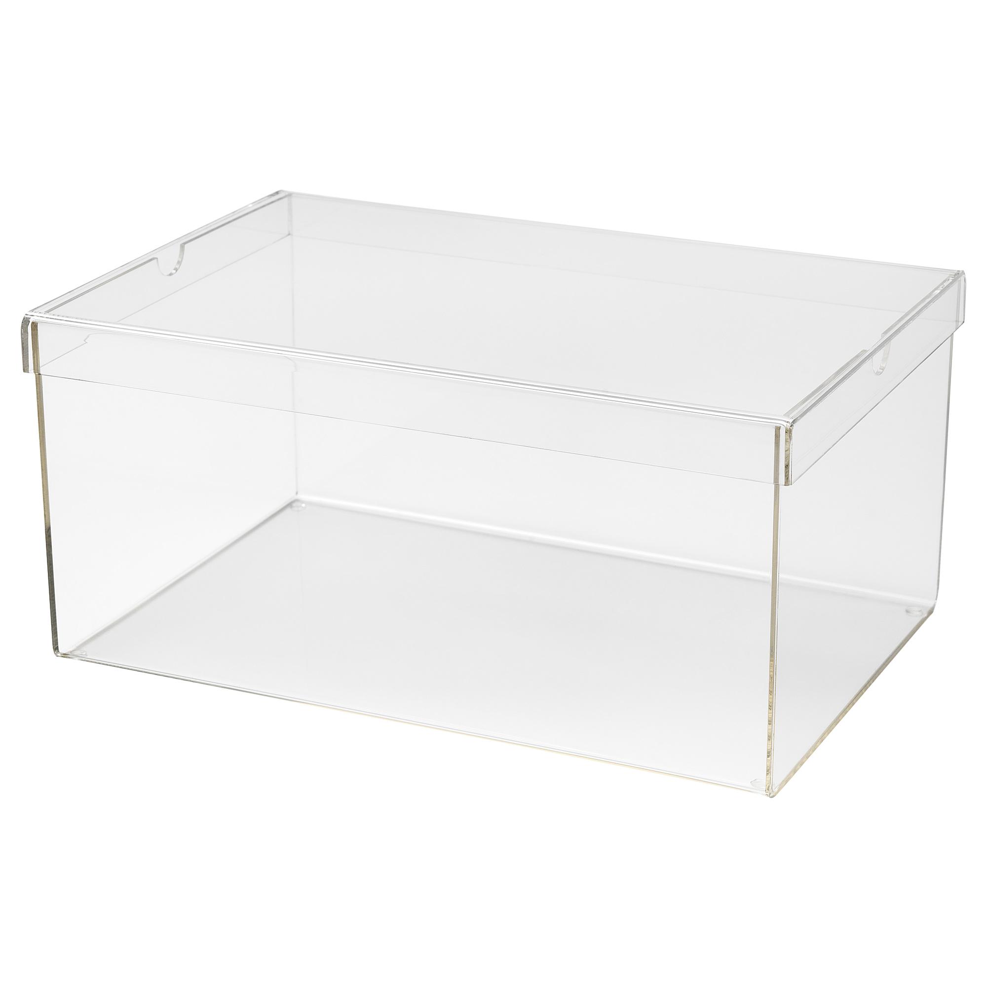Коробка для обуви СПЭНСТ прозрачный артикуль № 204.012.66 в наличии. Онлайн сайт IKEA Республика Беларусь. Быстрая доставка и соборка.