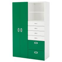 Шкаф платяной СТУВА / ФРИТИДС зеленый артикуль № 892.765.28 в наличии. Онлайн каталог IKEA Беларусь. Быстрая доставка и установка.