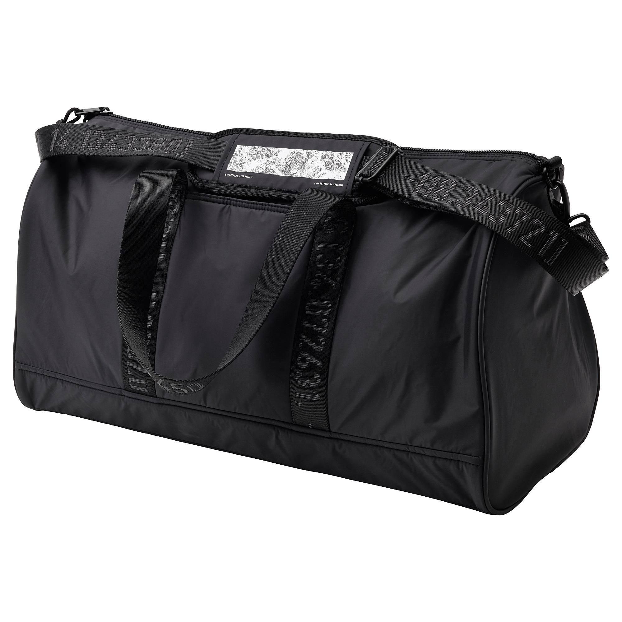Спортивная сумка СПЭНСТ черный артикуль № 904.015.31 в наличии. Онлайн сайт ИКЕА Республика Беларусь. Быстрая доставка и соборка.