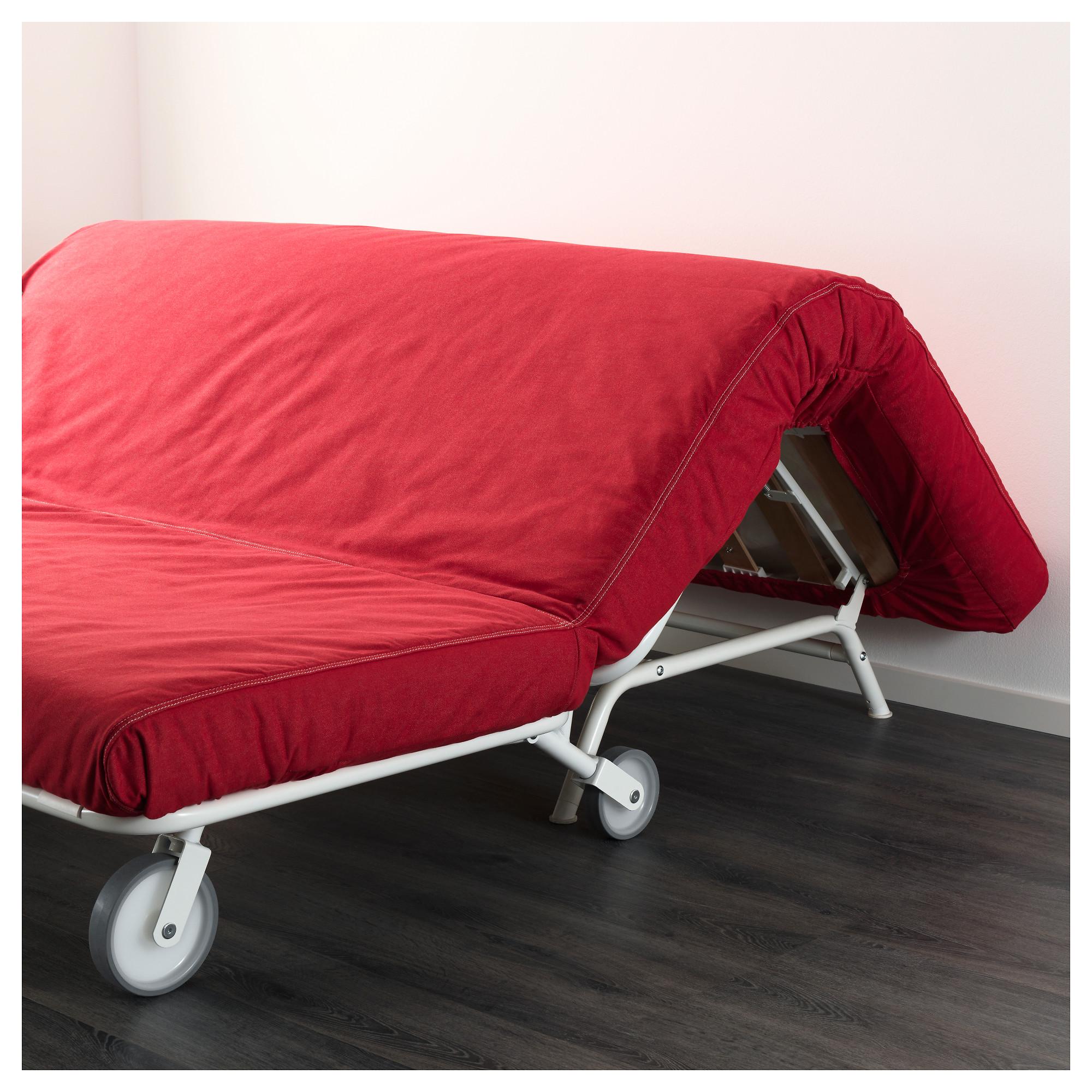 купить 2 местный диван кровать икеапс мурбо ванста красный в Ikea