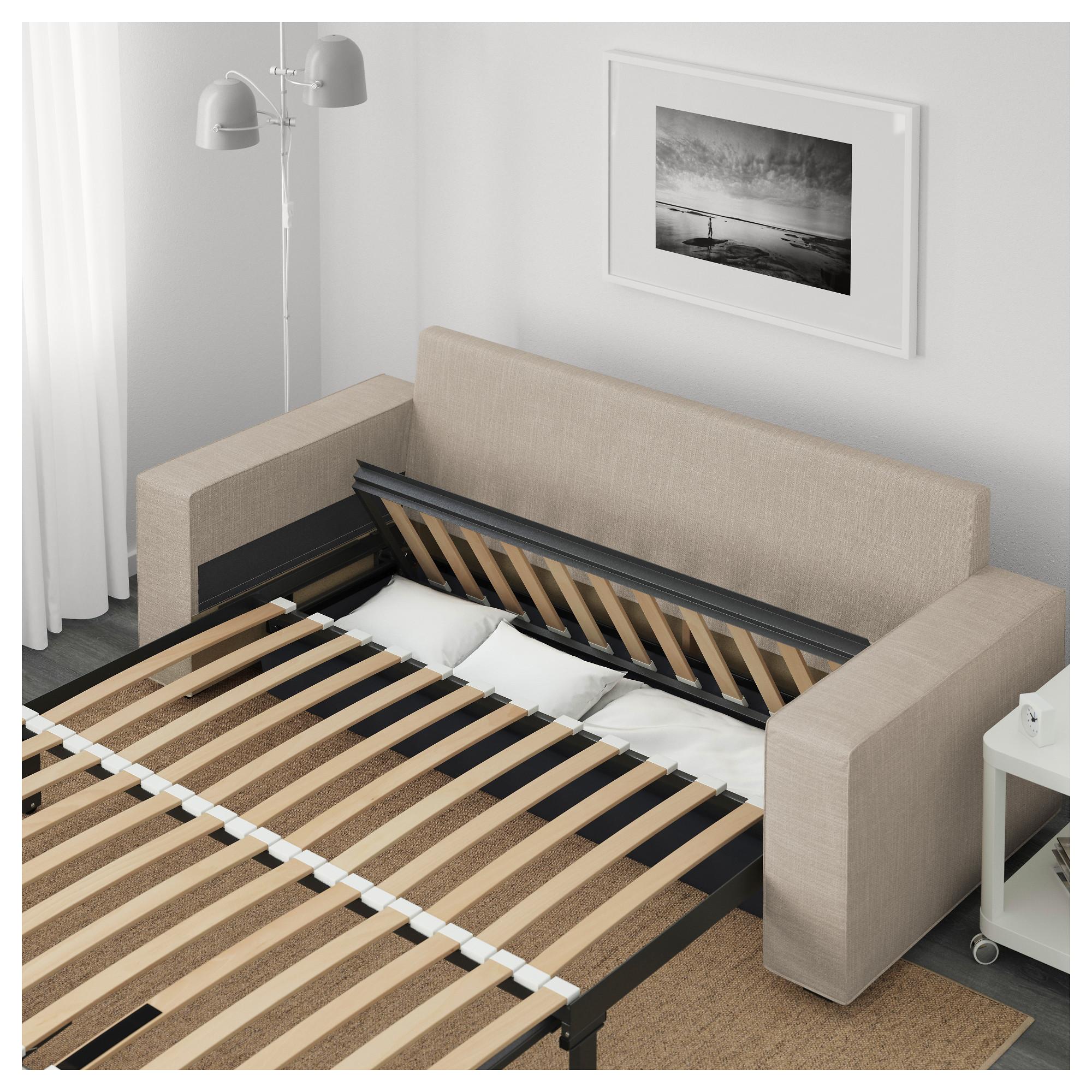 3-местный диван-кровать ВИЛАСУНД бежевый артикуль № 692.824.98 в наличии. Интернет магазин ИКЕА Минск. Недорогая доставка и соборка.