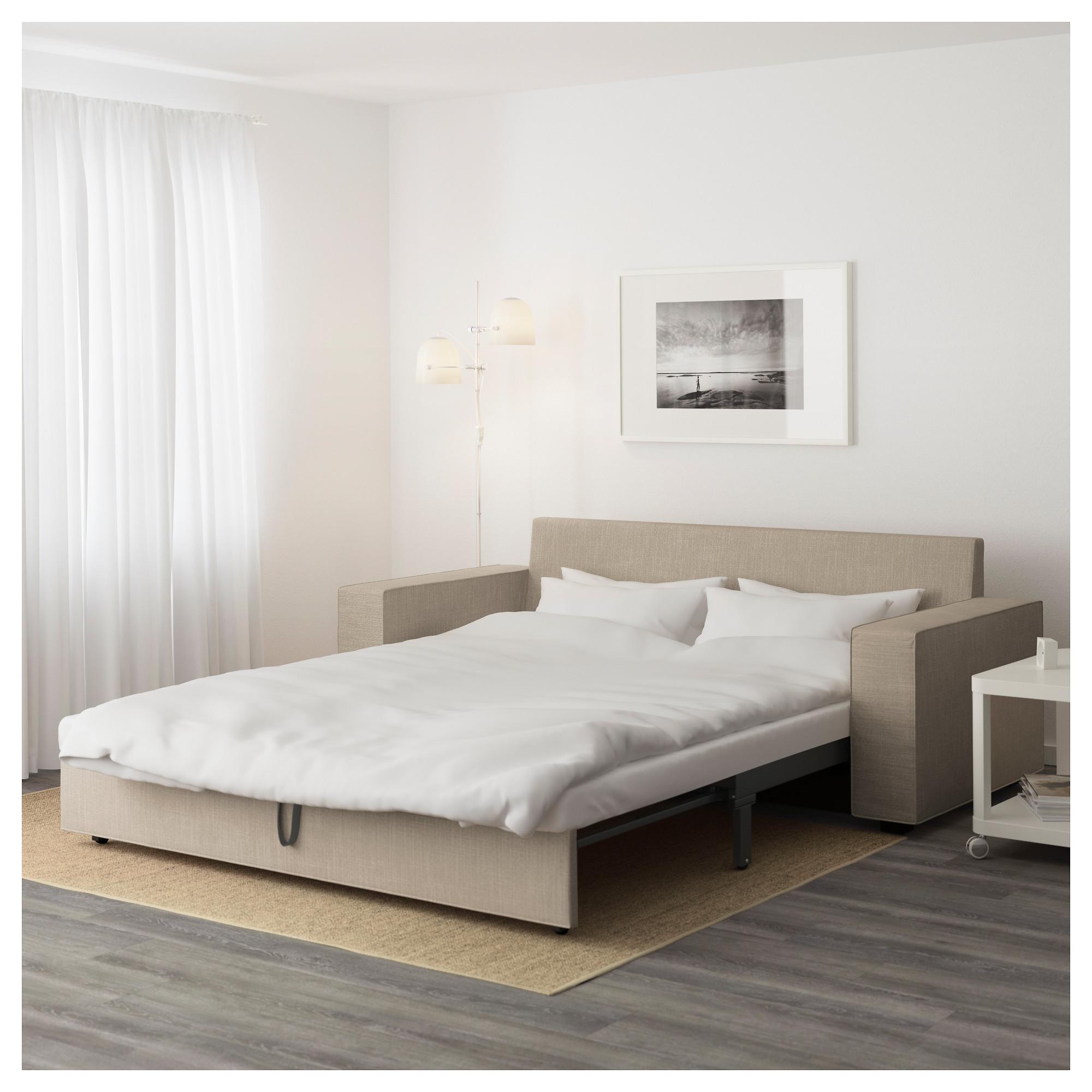 3-местный диван-кровать ВИЛАСУНД бежевый артикуль № 692.824.98 в наличии. Online магазин ИКЕА Беларусь. Быстрая доставка и установка.