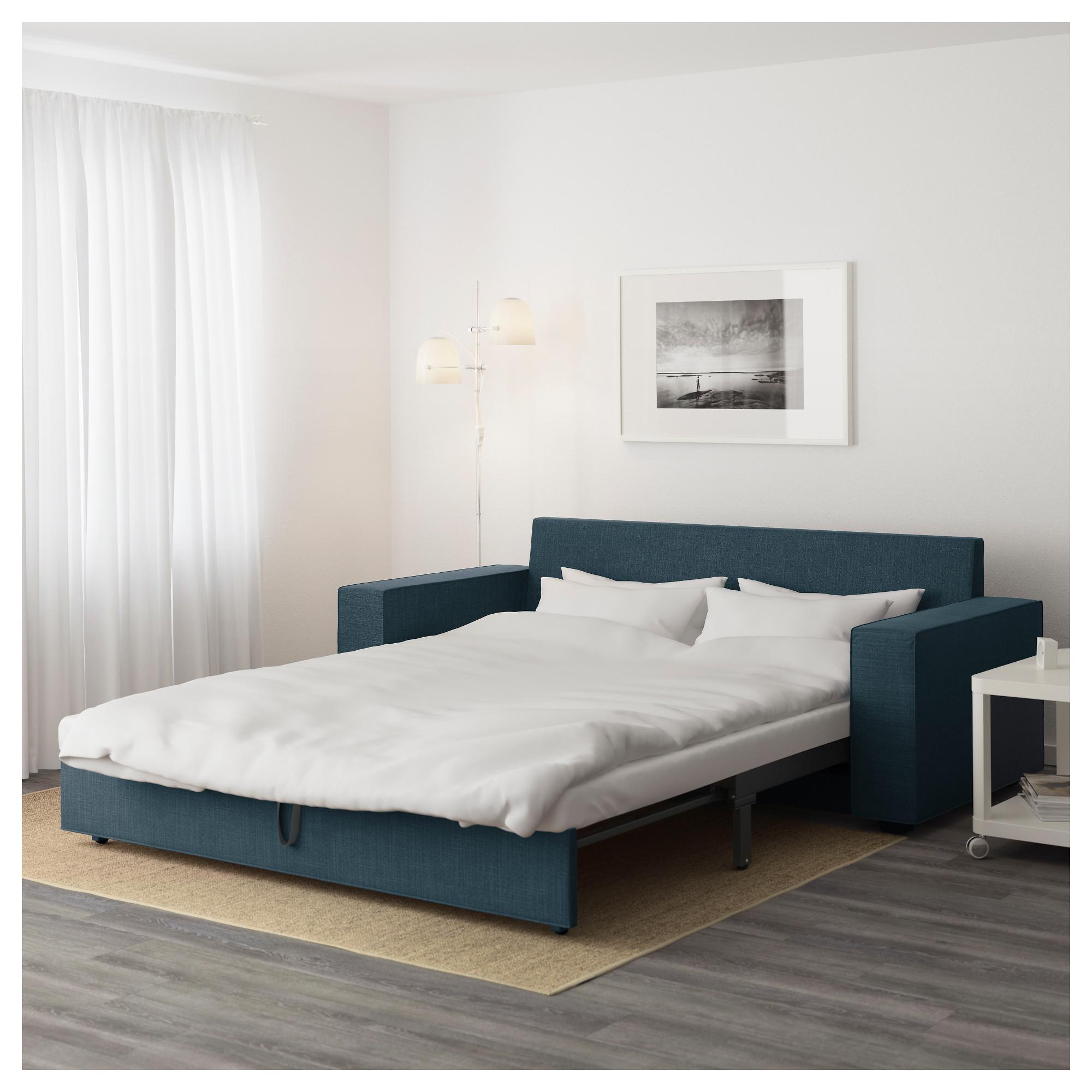 3-местный диван-кровать ВИЛАСУНД темно-синий артикуль № 792.825.01 в наличии. Онлайн каталог ИКЕА Минск. Недорогая доставка и установка.