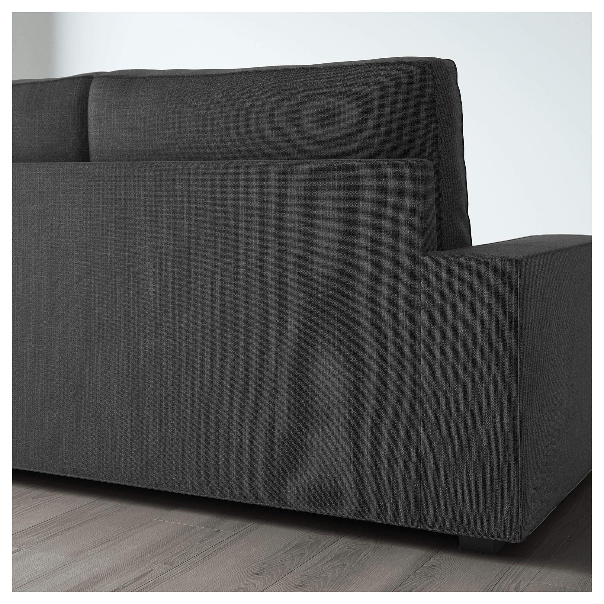3-местный диван-кровать ВИЛАСУНД антрацит артикуль № 892.824.97 в наличии. Интернет каталог IKEA РБ. Недорогая доставка и установка.
