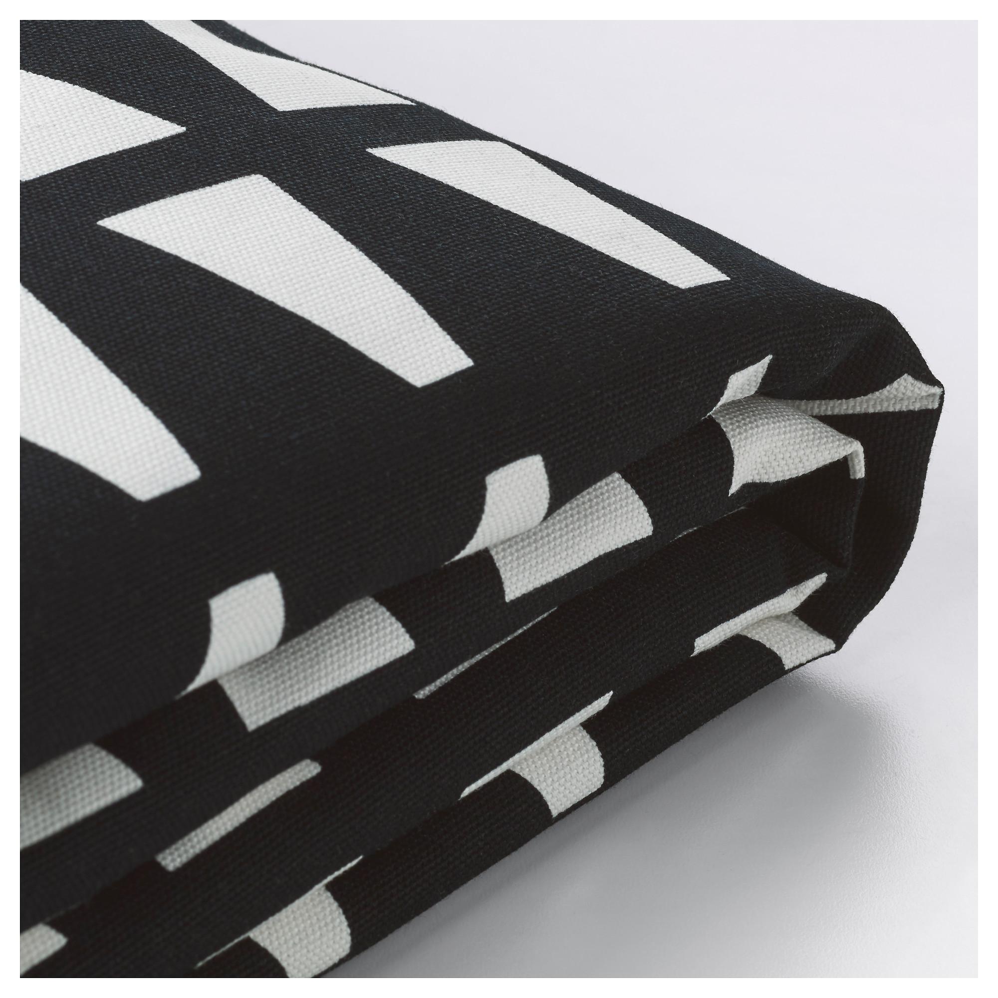 Чехол на 2-местный диван-кровать ЛИКСЕЛЕ черный/белый артикуль № 503.830.58 в наличии. Интернет магазин IKEA Беларусь. Быстрая доставка и установка.
