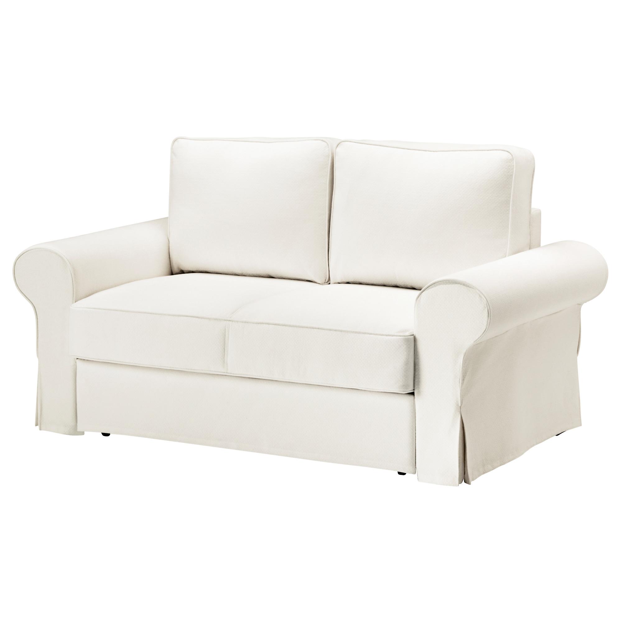 Диван-кровать 2-местная БАККАБРУ белый артикуль № 692.407.19 в наличии. Онлайн каталог IKEA Республика Беларусь. Недорогая доставка и монтаж.