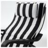Кресло-качалка ПОЭНГ черный/белый артикуль № 292.515.64 в наличии. Интернет каталог IKEA Республика Беларусь. Недорогая доставка и соборка.