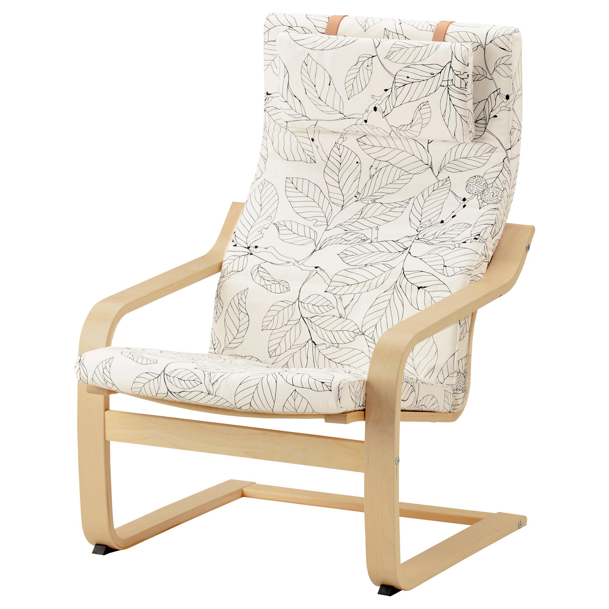 Кресло ПОЭНГ черный/белый артикуль № 392.515.73 в наличии. Интернет каталог IKEA Минск. Недорогая доставка и установка.