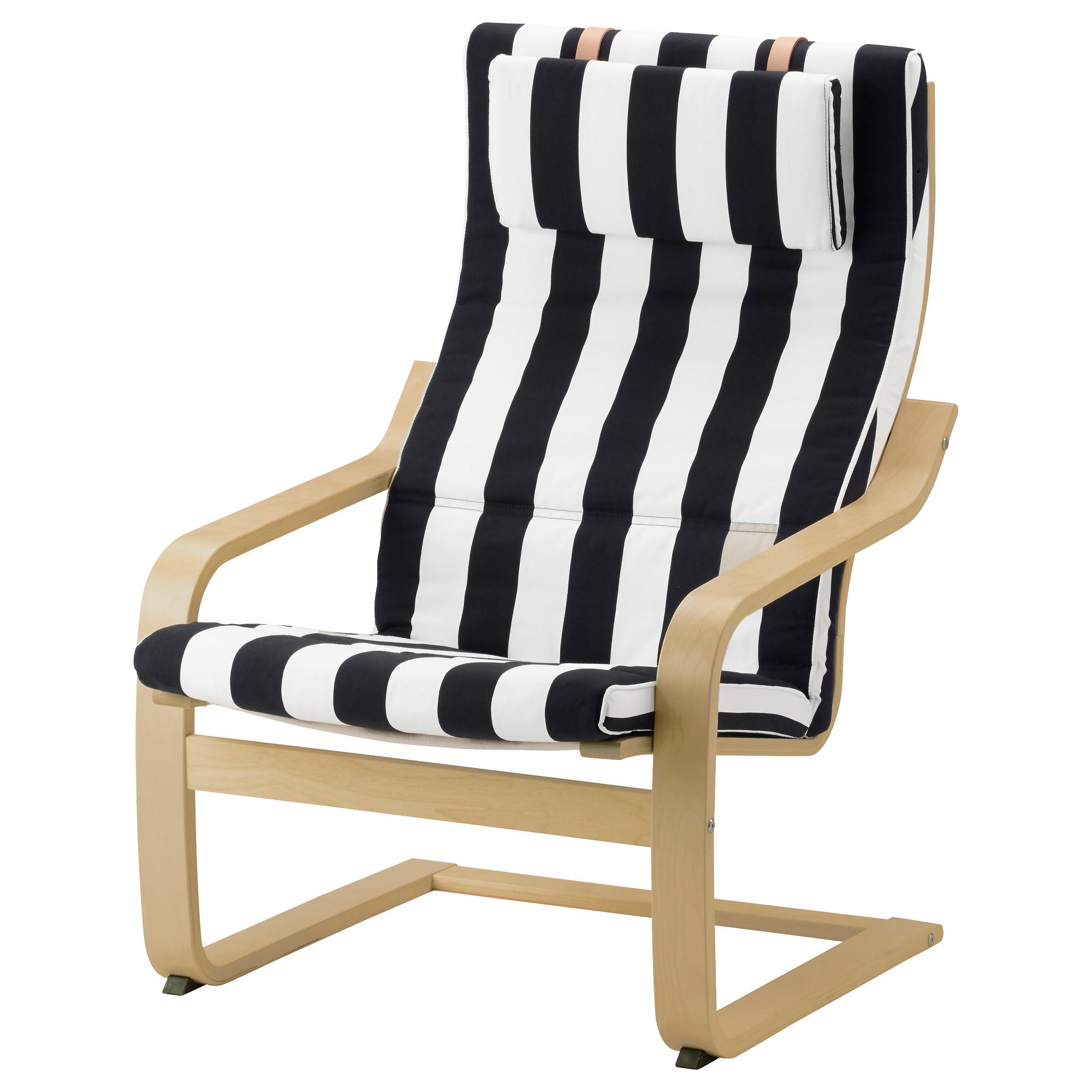 Кресло ПОЭНГ черный/белый артикуль № 592.515.53 в наличии. Online каталог ИКЕА РБ. Недорогая доставка и установка.