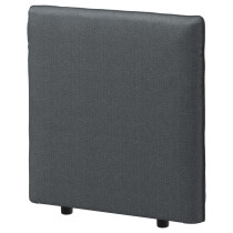 Спинка ВАЛЛЕНТУНА темно-серый артикуль № 692.825.06 в наличии. Онлайн магазин IKEA РБ. Недорогая доставка и монтаж.