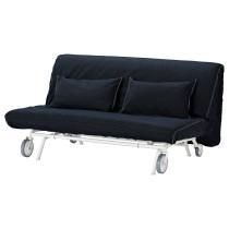 2-местный диван-кровать ИКЕА/ПС ЛЁВОС темно-синий артикуль № 192.825.18 в наличии. Интернет магазин ИКЕА РБ. Быстрая доставка и установка.