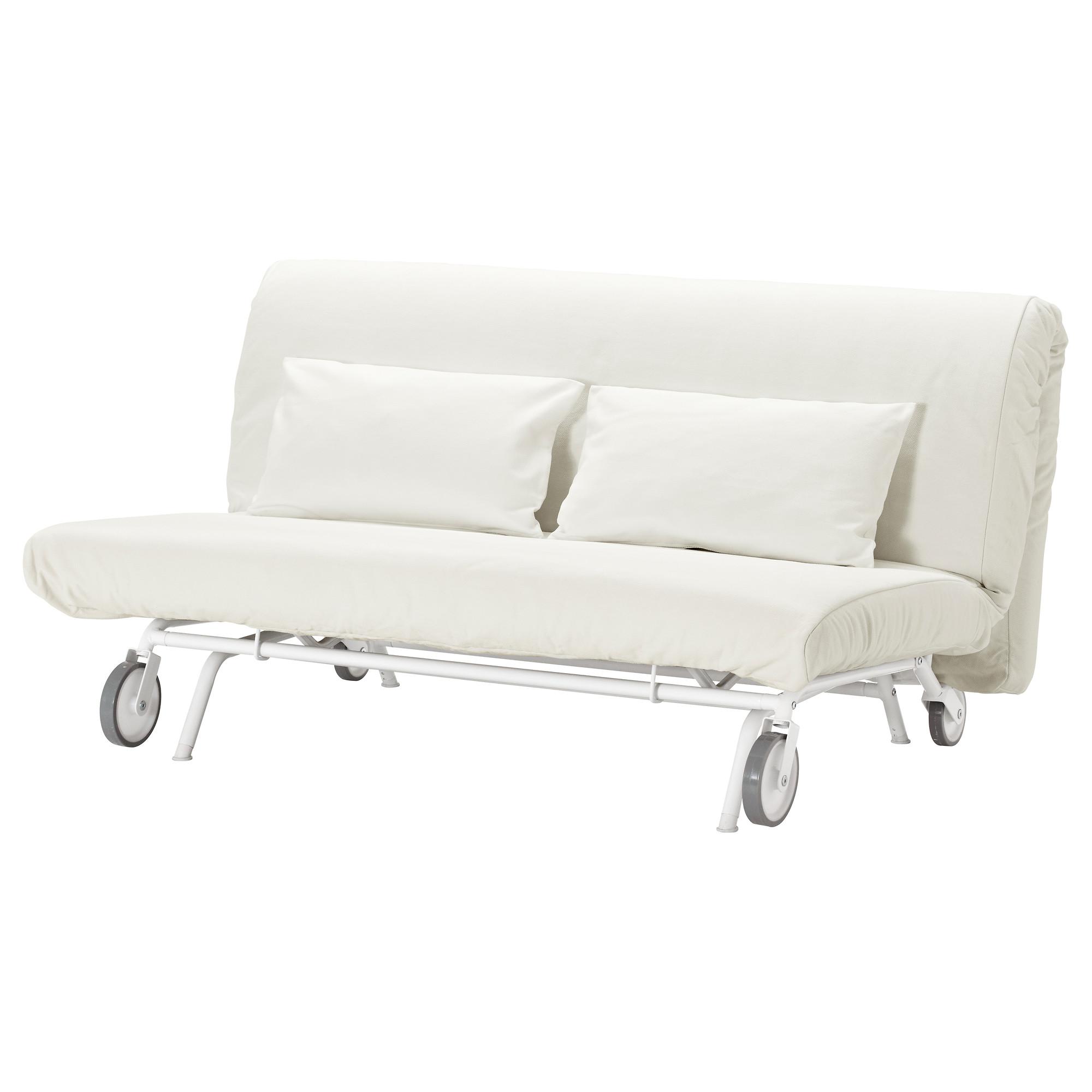 2-местный диван-кровать ИКЕА/ПС ЛЁВОС белый артикуль № 392.825.17 в наличии. Онлайн каталог IKEA Беларусь. Недорогая доставка и монтаж.