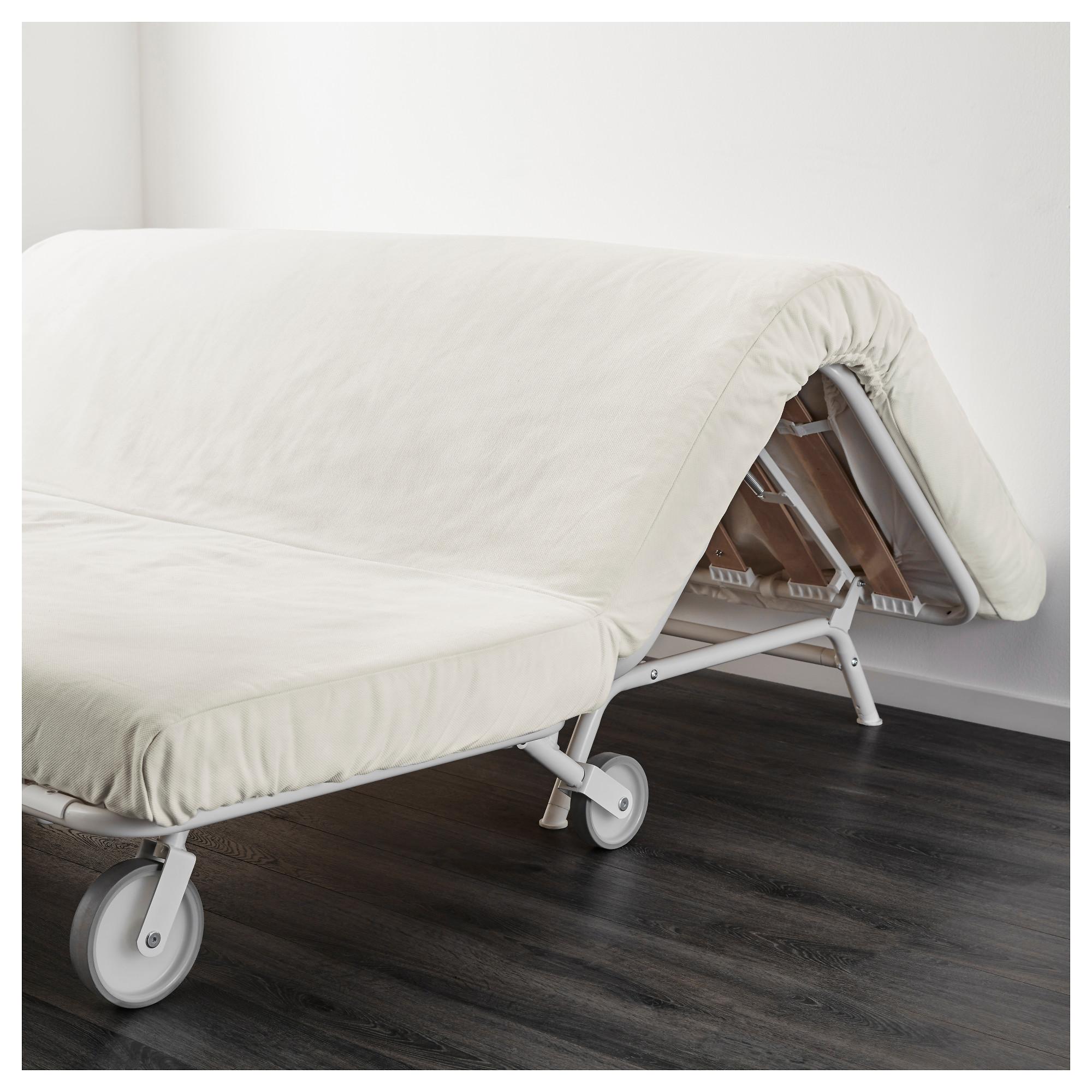 купить 2 местный диван кровать икеапс лёвос грэсбу белый в Ikea