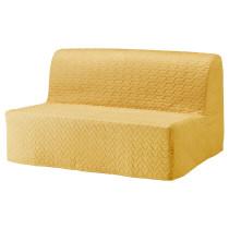2-местный диван-кровать ЛИКСЕЛЕ ХОВЕТ желтый артикуль № 892.824.16 в наличии. Онлайн каталог ИКЕА Беларусь. Недорогая доставка и монтаж.