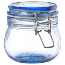 Банка с крышкой КОРКЕН синий артикуль № 604.253.93 в наличии. Online каталог IKEA РБ. Недорогая доставка и соборка.