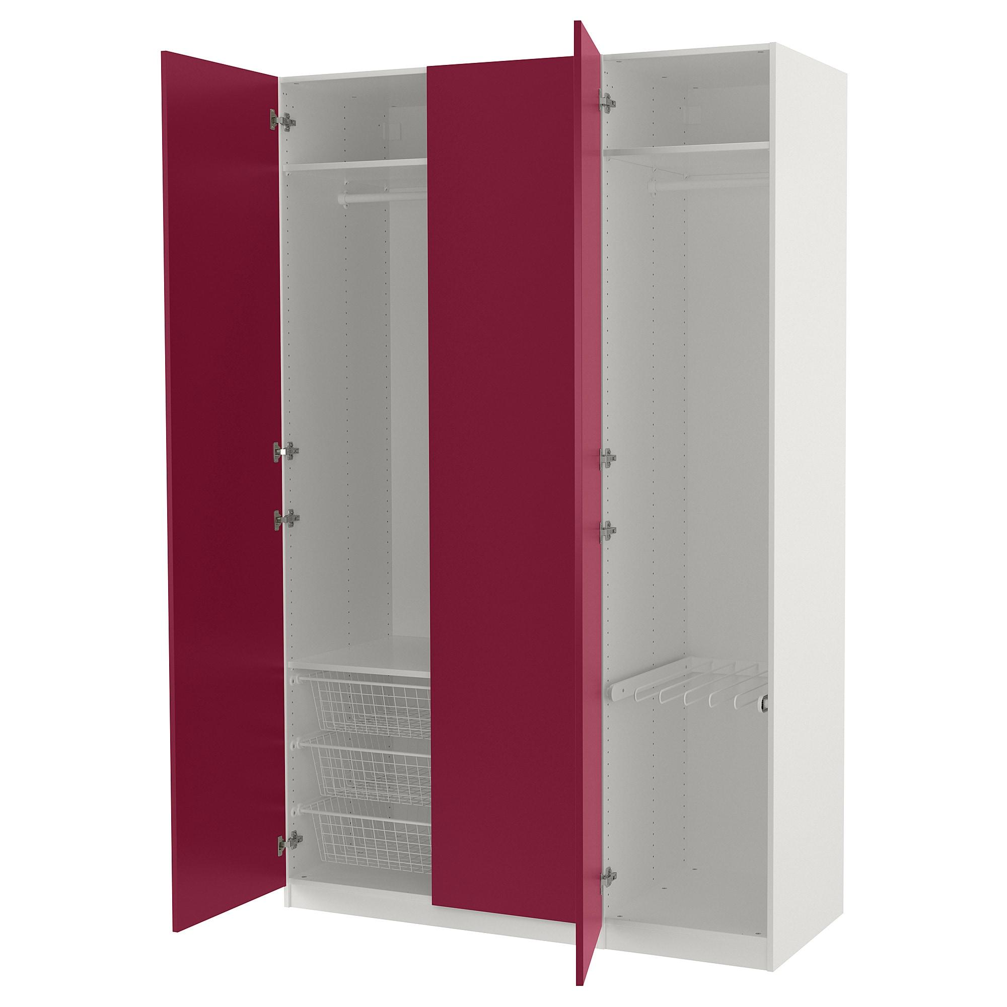 Гардероб ПАКС темно-красный артикуль № 892.694.34 в наличии. Онлайн сайт IKEA Беларусь. Быстрая доставка и монтаж.