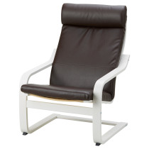Кресло ПОЭНГ темно-коричневый артикуль № 092.956.44 в наличии. Online магазин ИКЕА РБ. Быстрая доставка и установка.