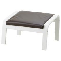 Табурет для ног ПОЭНГ темно-коричневый артикуль № 192.956.72 в наличии. Онлайн каталог IKEA Минск. Быстрая доставка и установка.