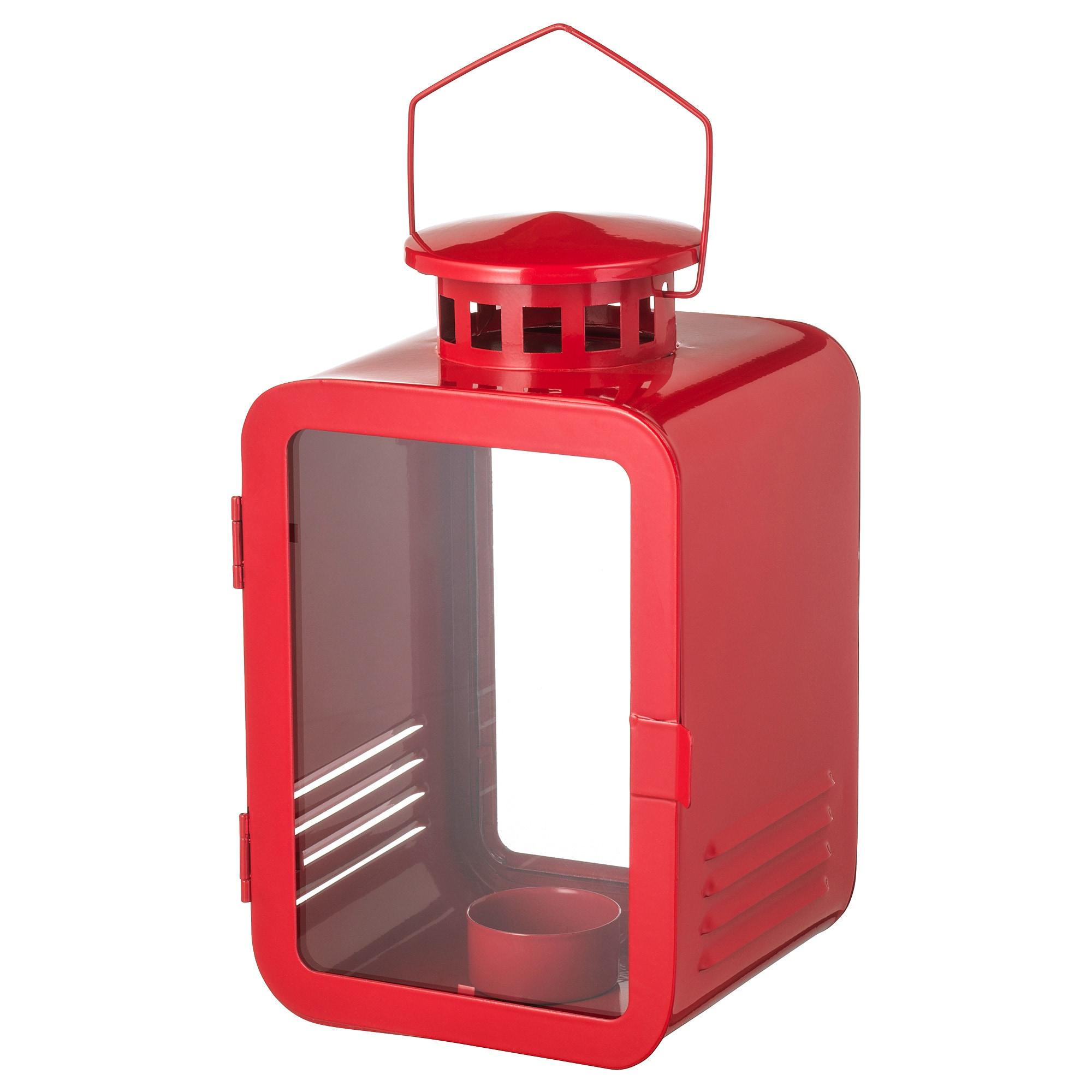 купить фонарь для греющей свечи винтер 2018 красный в Ikea минск