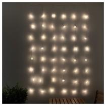 Гирлянда-драпировка, 48 светодиодов СТРОЛА артикуль № 304.156.11 в наличии. Интернет сайт IKEA РБ. Быстрая доставка и соборка.