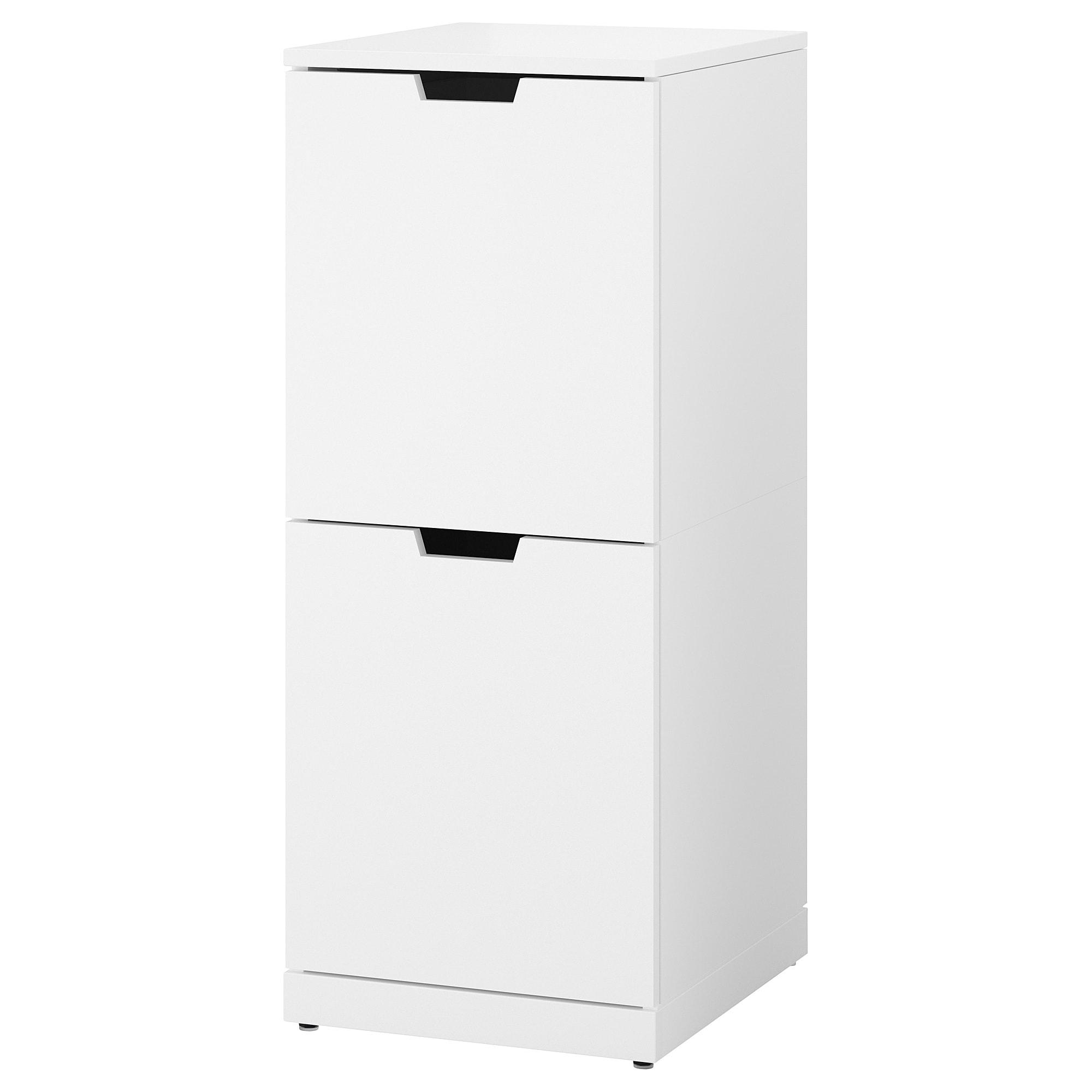 Комод с 2 ящиками НОРДЛИ белый артикуль № 092.765.46 в наличии. Онлайн каталог IKEA Минск. Недорогая доставка и монтаж.