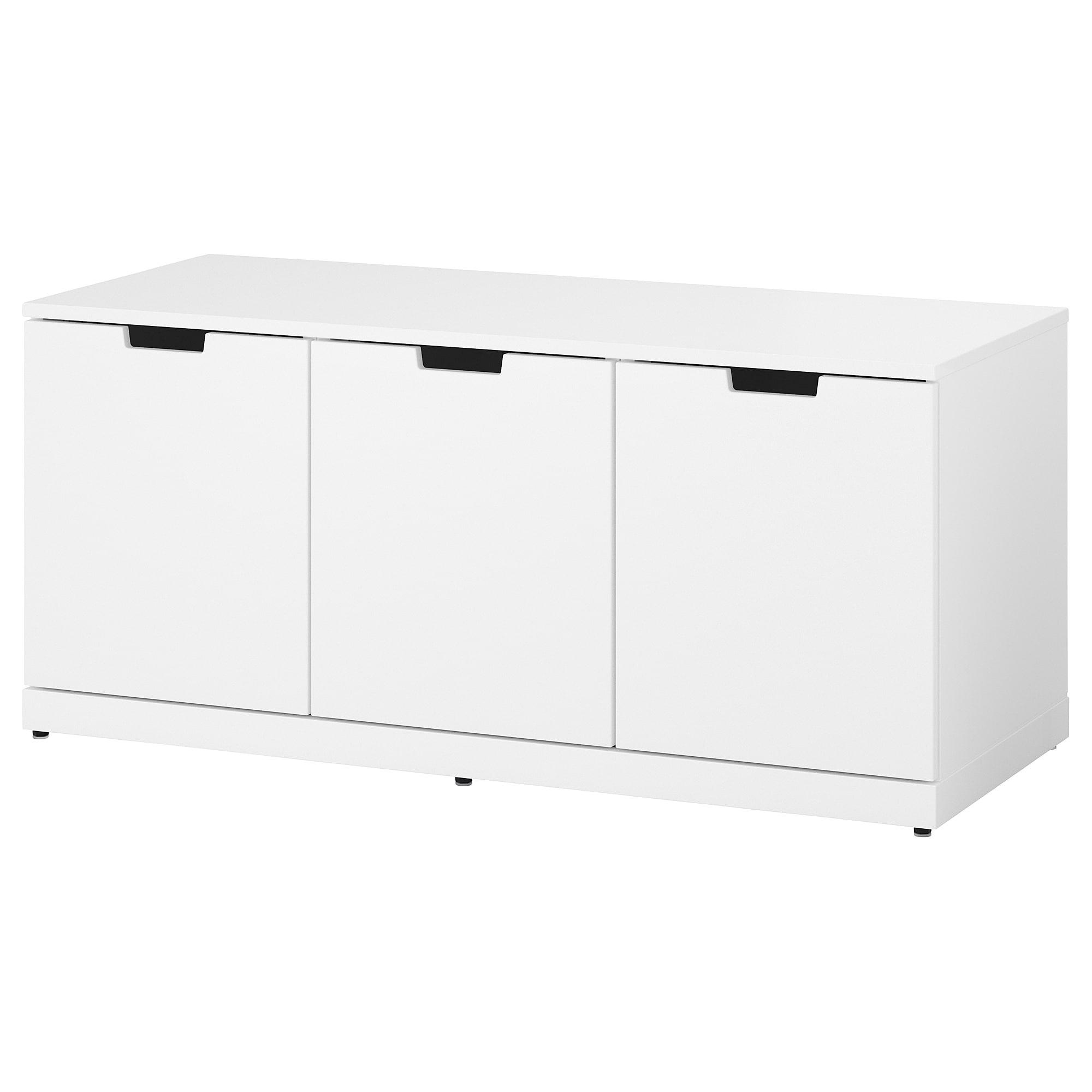 Комод с 3 ящиками НОРДЛИ белый артикуль № 092.765.70 в наличии. Онлайн каталог IKEA Республика Беларусь. Недорогая доставка и установка.