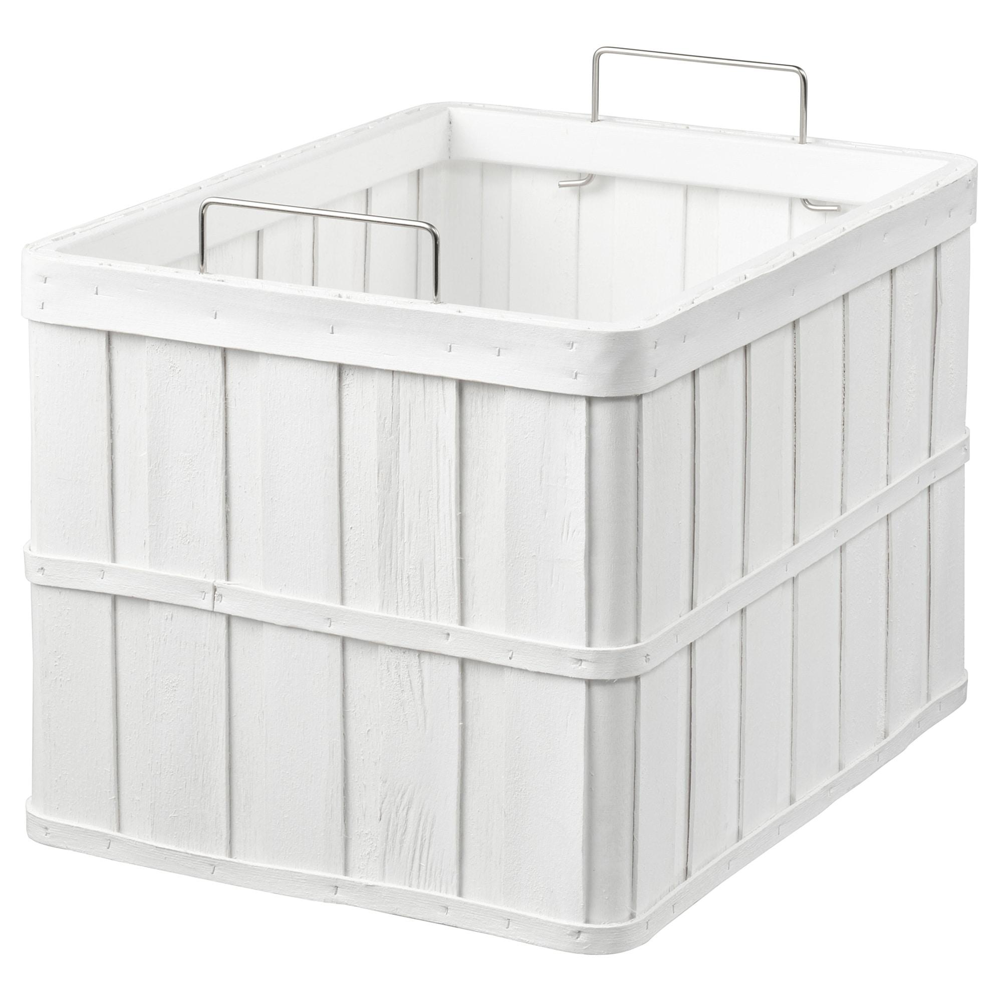 Корзина БРАНКИС белый артикуль № 804.141.62 в наличии. Online сайт IKEA Минск. Быстрая доставка и монтаж.