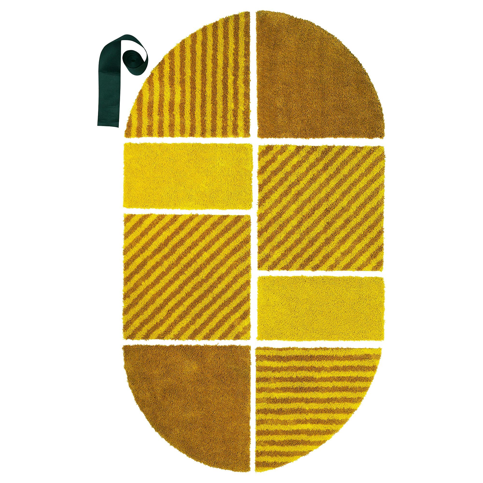 Ковер, короткий ворс СЬЕЛЬВСТЭНДИГ желтый артикуль № 304.147.77 в наличии. Online магазин ИКЕА Республика Беларусь. Недорогая доставка и установка.