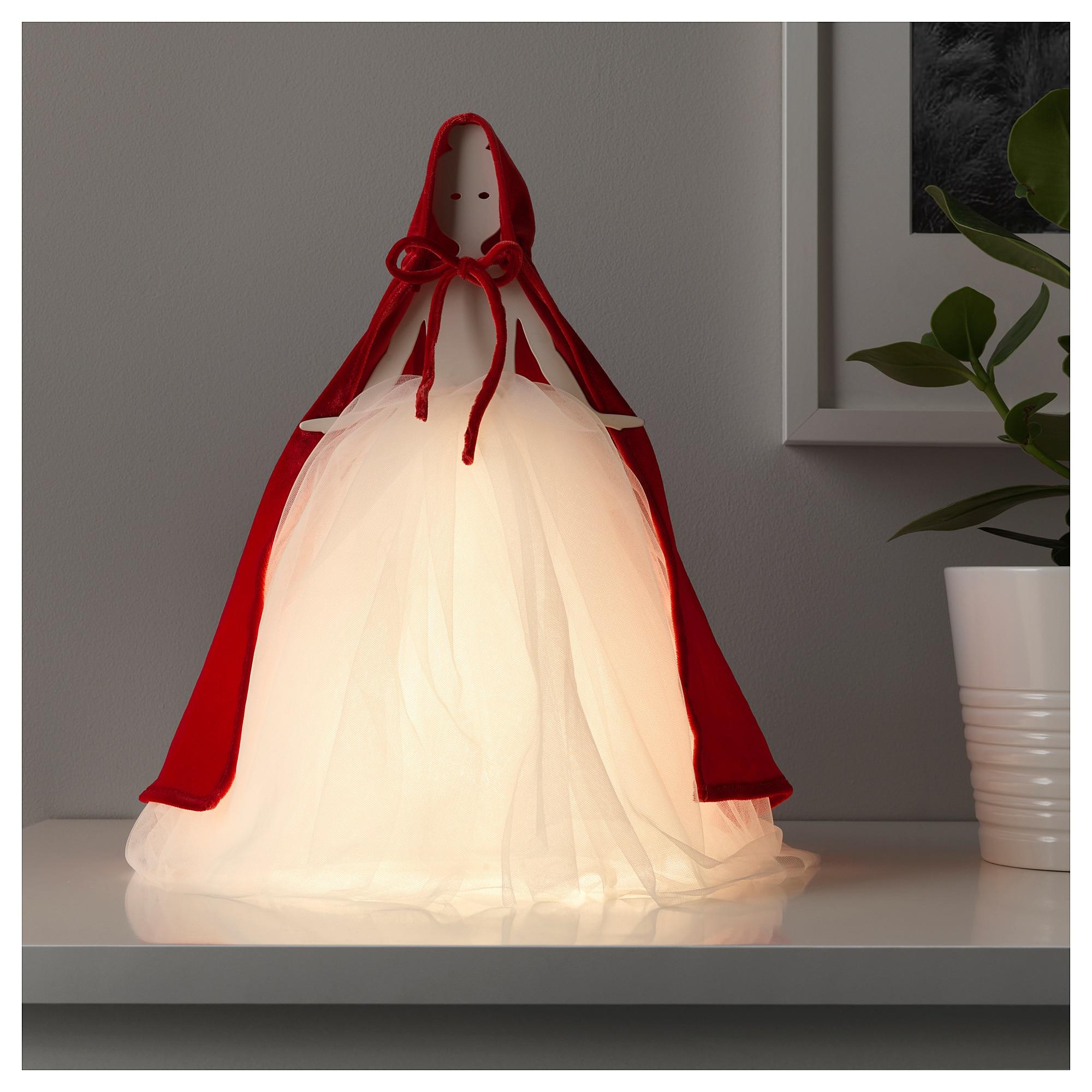 Настольная лампа, светодиодная СТРОЛА красный артикуль № 204.155.55 в наличии. Онлайн сайт IKEA Республика Беларусь. Недорогая доставка и соборка.