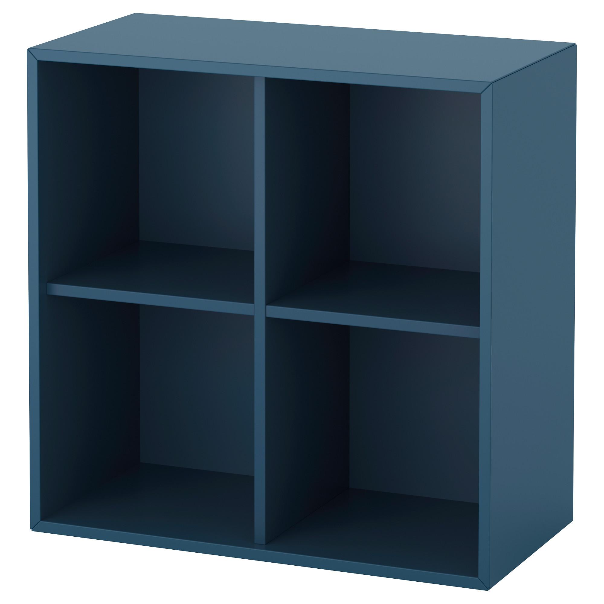 Навесной модуль с 4 отделениями ЭКЕТ темно-синий артикуль № 092.858.62 в наличии. Интернет сайт ИКЕА РБ. Быстрая доставка и соборка.