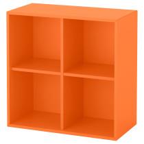 Навесной модуль с 4 отделениями ЭКЕТ оранжевый артикуль № 192.858.90 в наличии. Интернет каталог IKEA Минск. Недорогая доставка и установка.