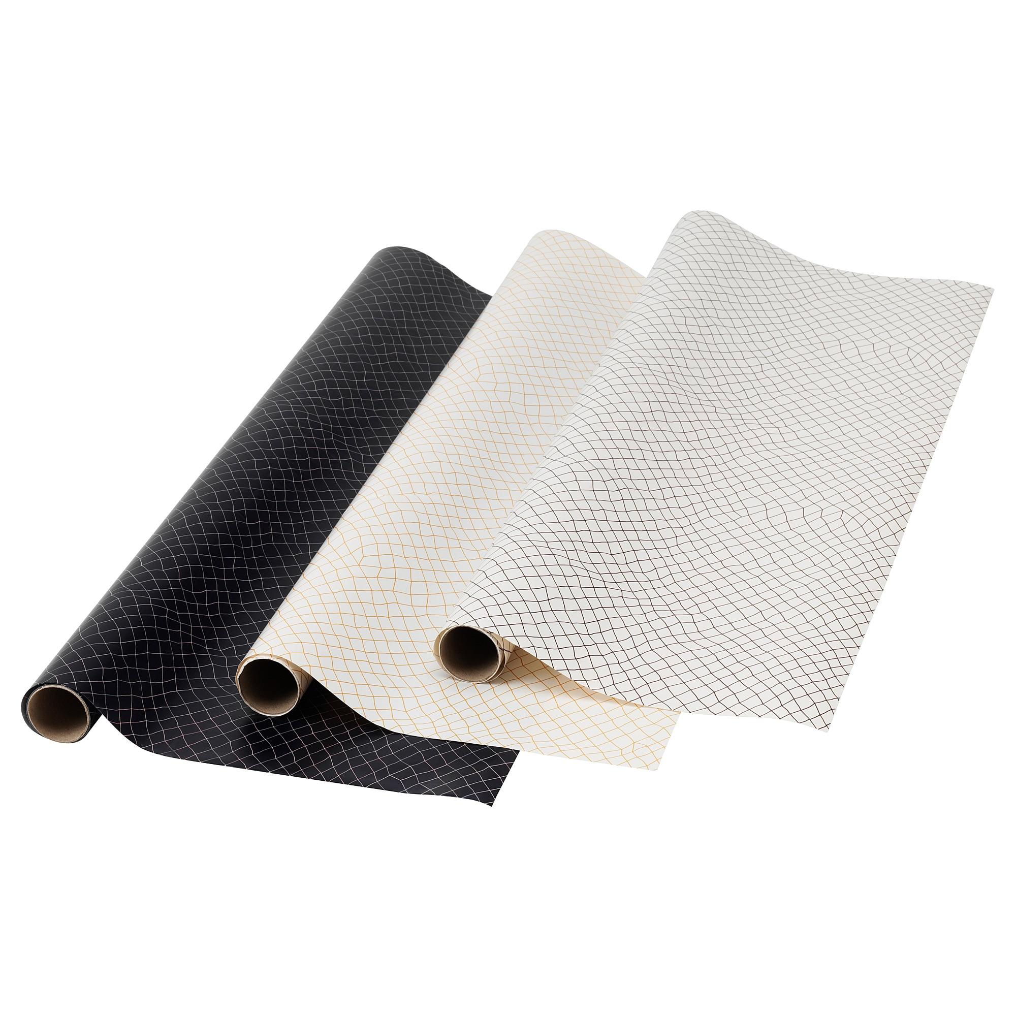Рулон оберточной бумаги ЛАНКМОЙ черный артикуль № 404.022.98 в наличии. Интернет сайт IKEA РБ. Недорогая доставка и установка.