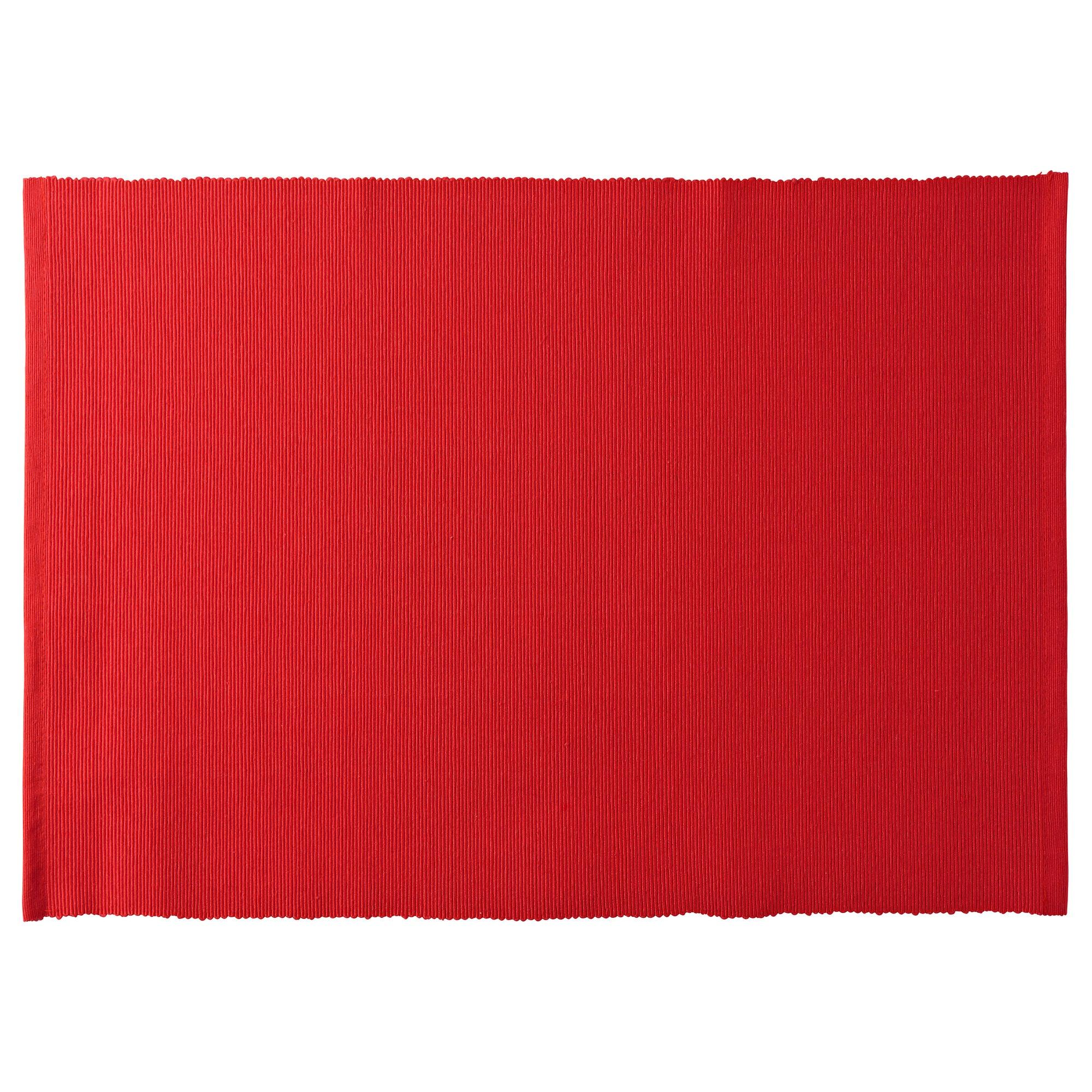 Салфетка под приборы МЭРИТ красный артикуль № 704.030.79 в наличии. Online сайт IKEA Беларусь. Недорогая доставка и установка.