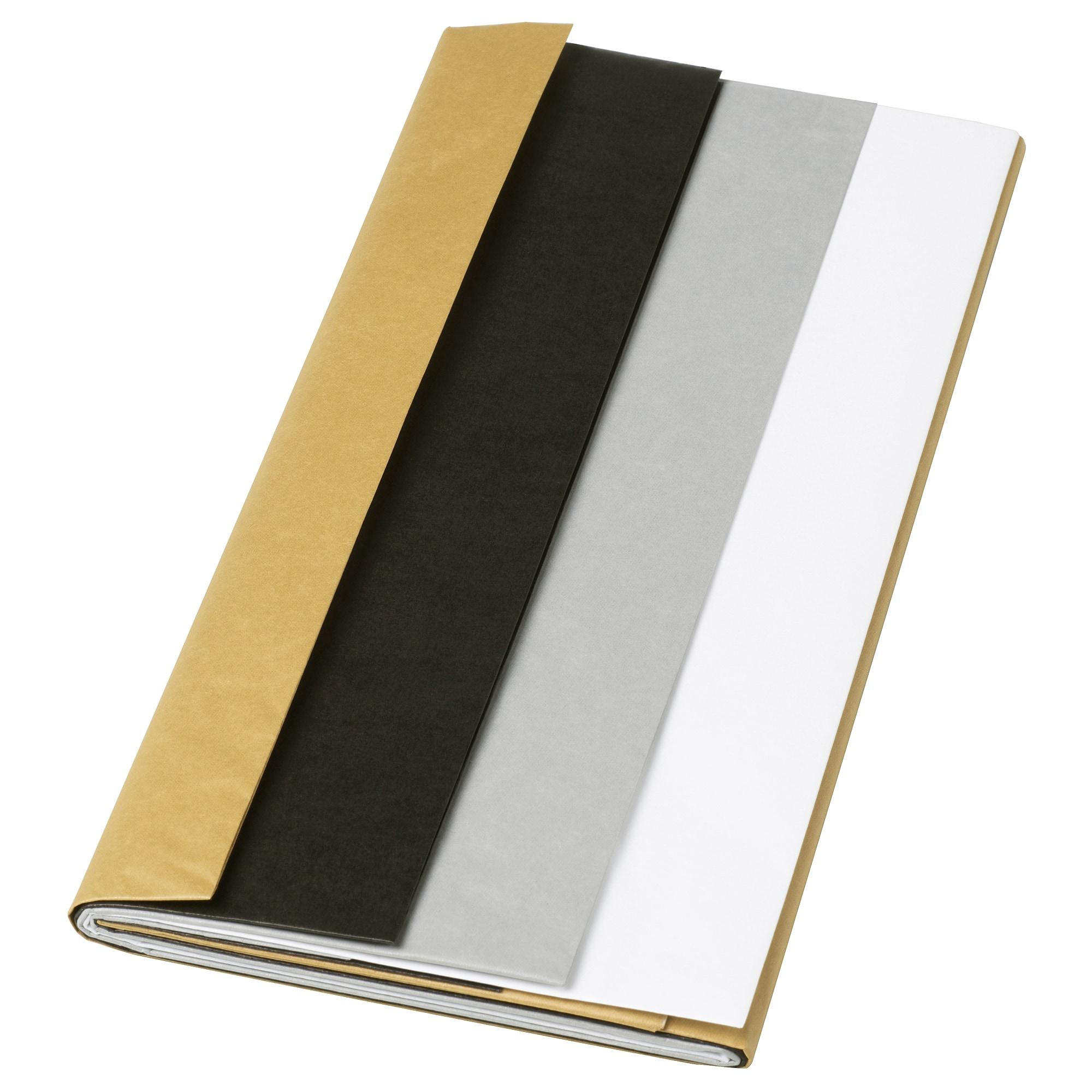 Шелковая бумага ВИНТЕР 2018 белый/серебристый артикуль № 604.016.79 в наличии. Онлайн магазин IKEA Минск. Недорогая доставка и монтаж.