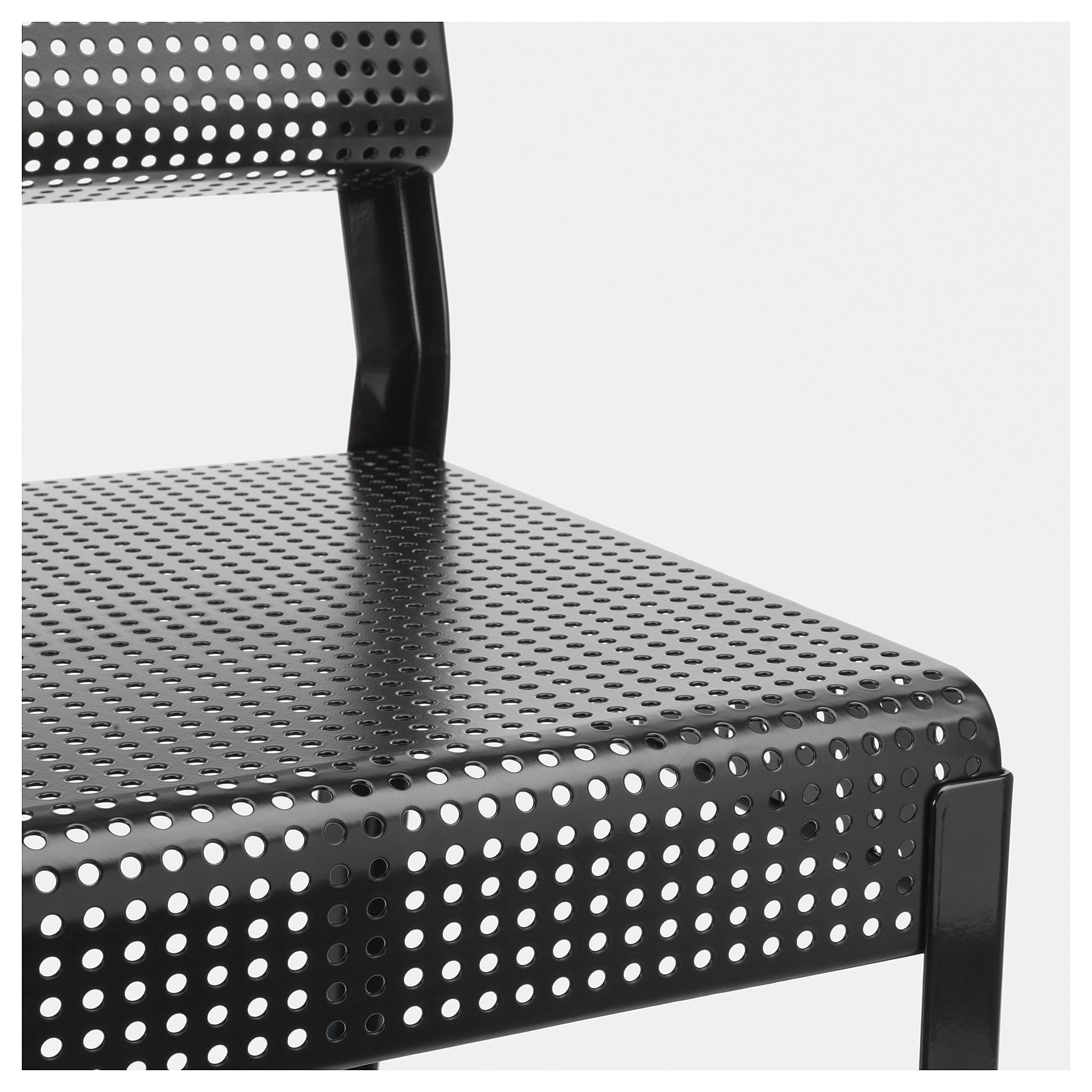Стул для дома/сада СЬЕЛЬВСТЭНДИГ черный артикуль № 804.149.30 в наличии. Онлайн сайт IKEA Беларусь. Быстрая доставка и установка.